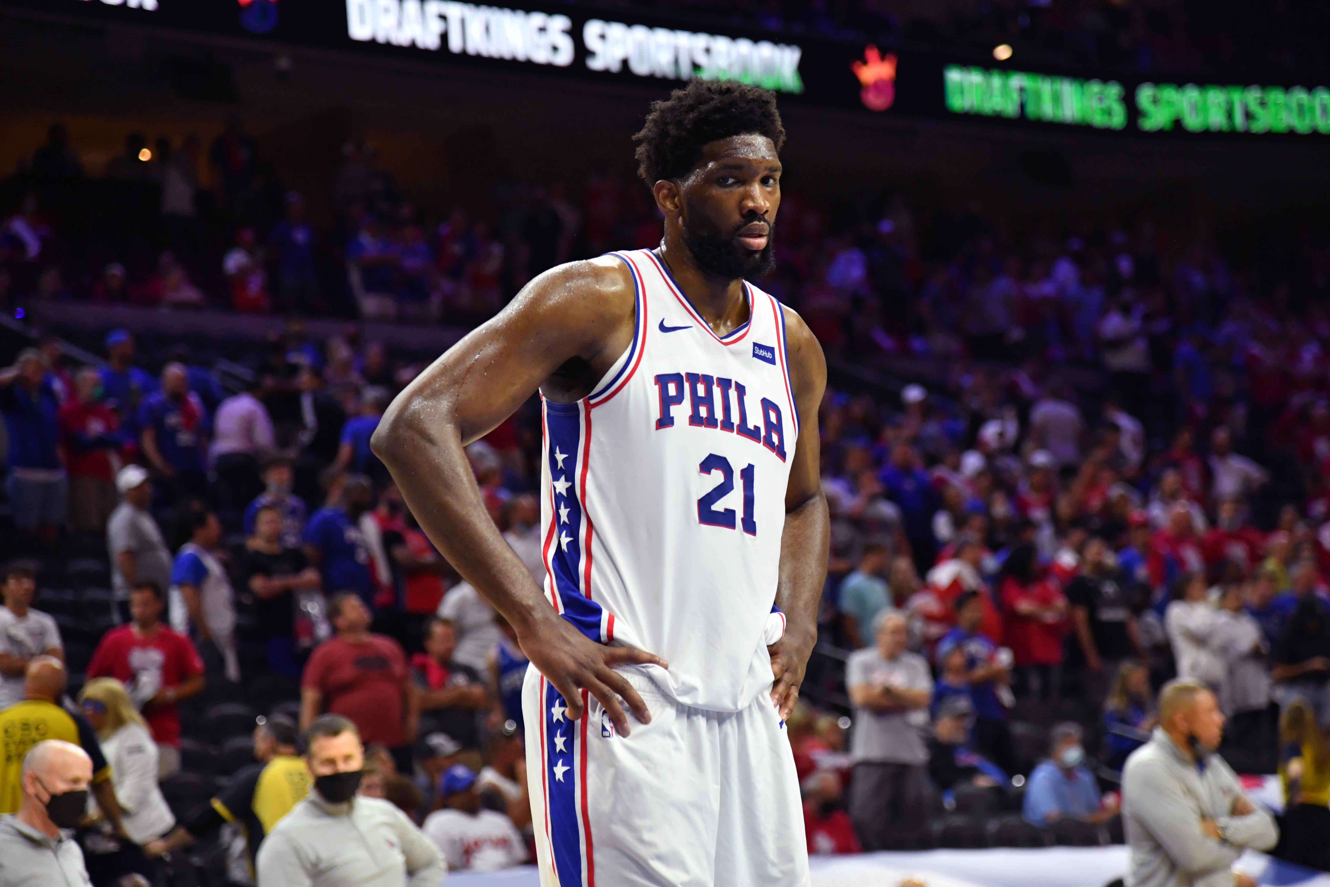 2021年NBA季后赛-亚特兰大老鹰队对费城76人队