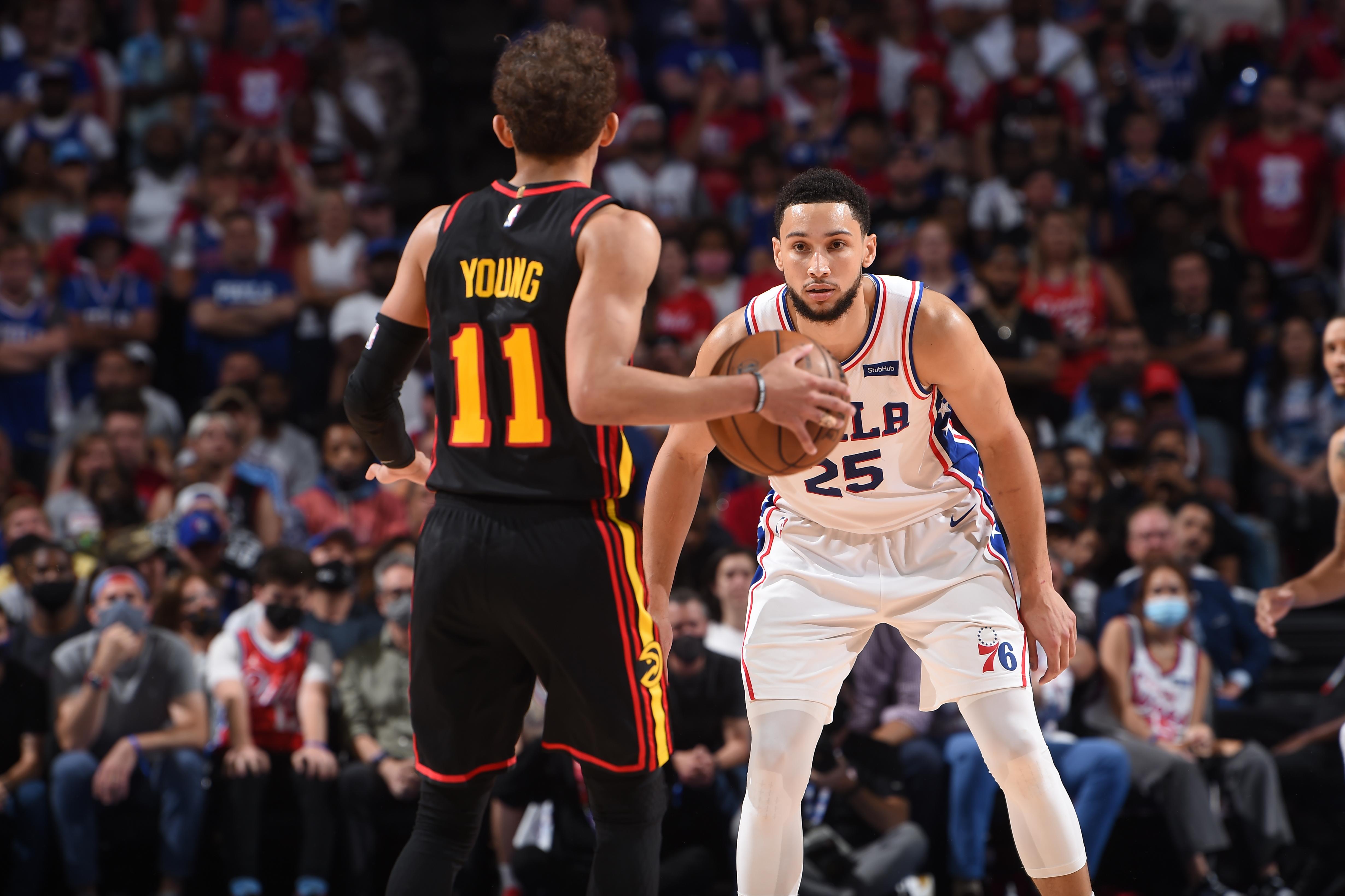 2021年NBA季后赛——亚特兰大老鹰vs费城76人