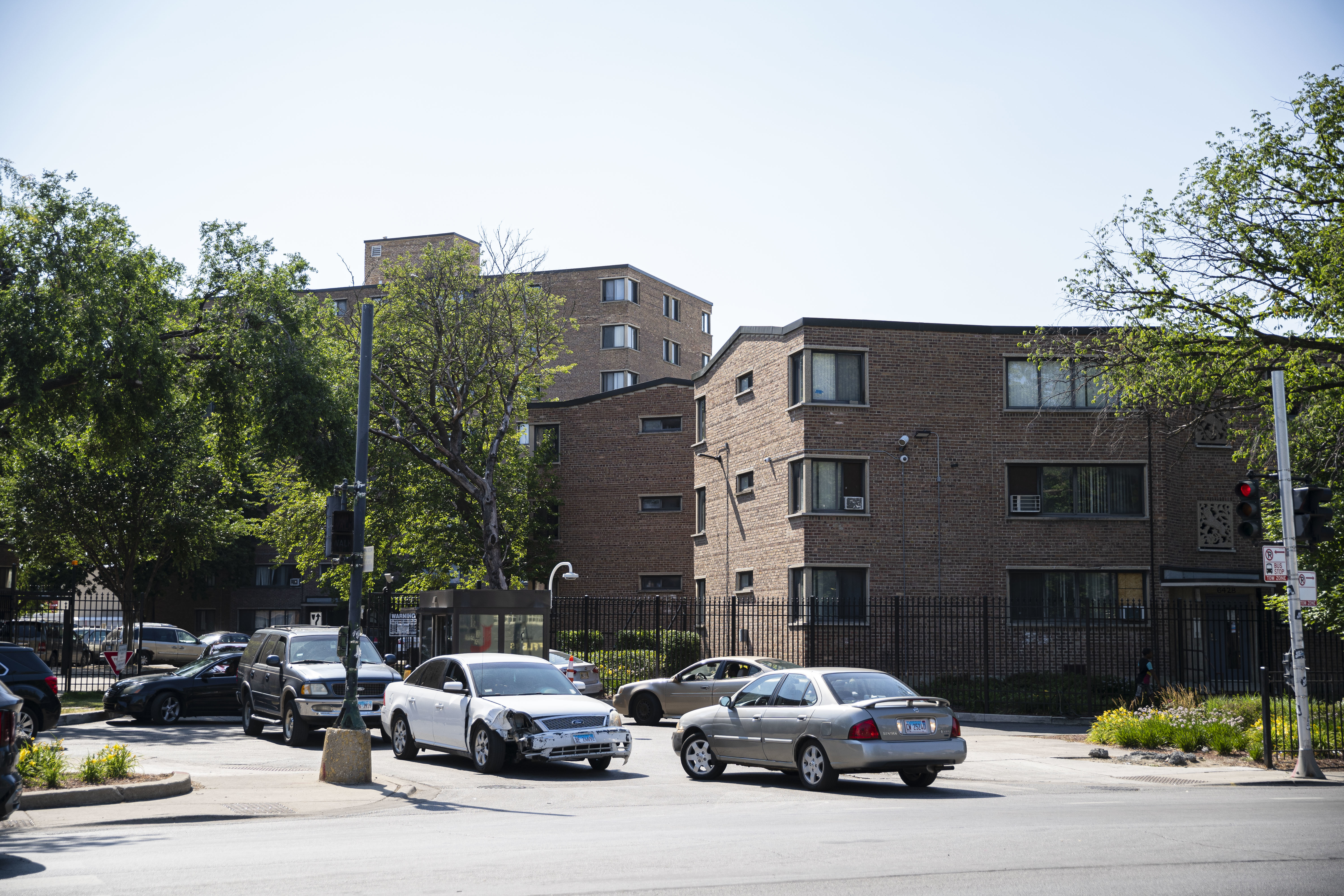 A portion of the Parkway Gardens development at 64th Street and Dr. Martin Luther King Jr. Drive.