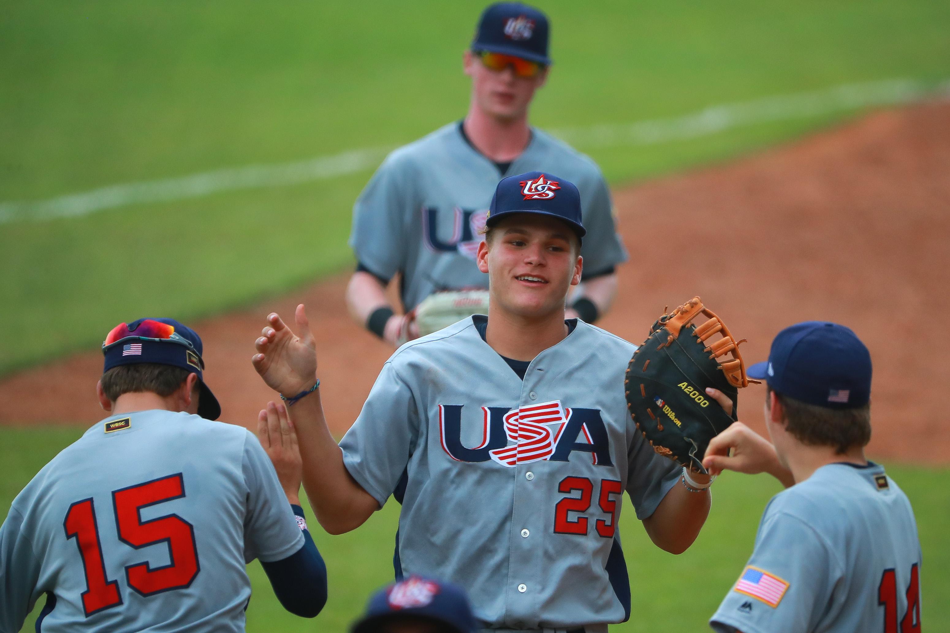 USA v Cuba - WBSC U-15 World Cup Super Round