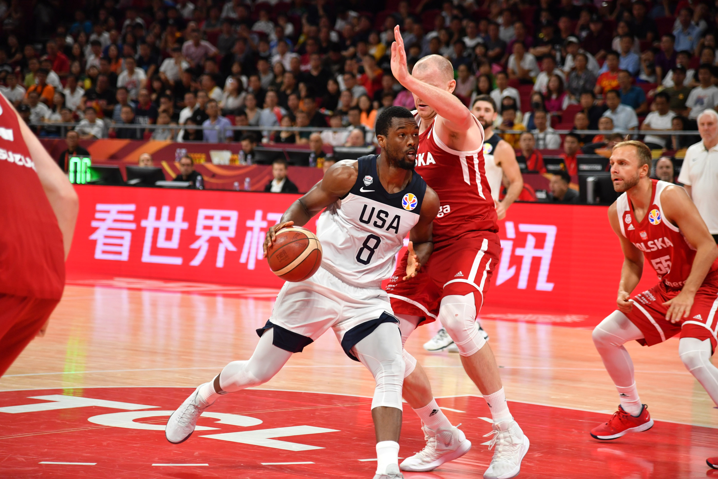 2019 FIBA World Cup: Classification 7-8: USA v Poland