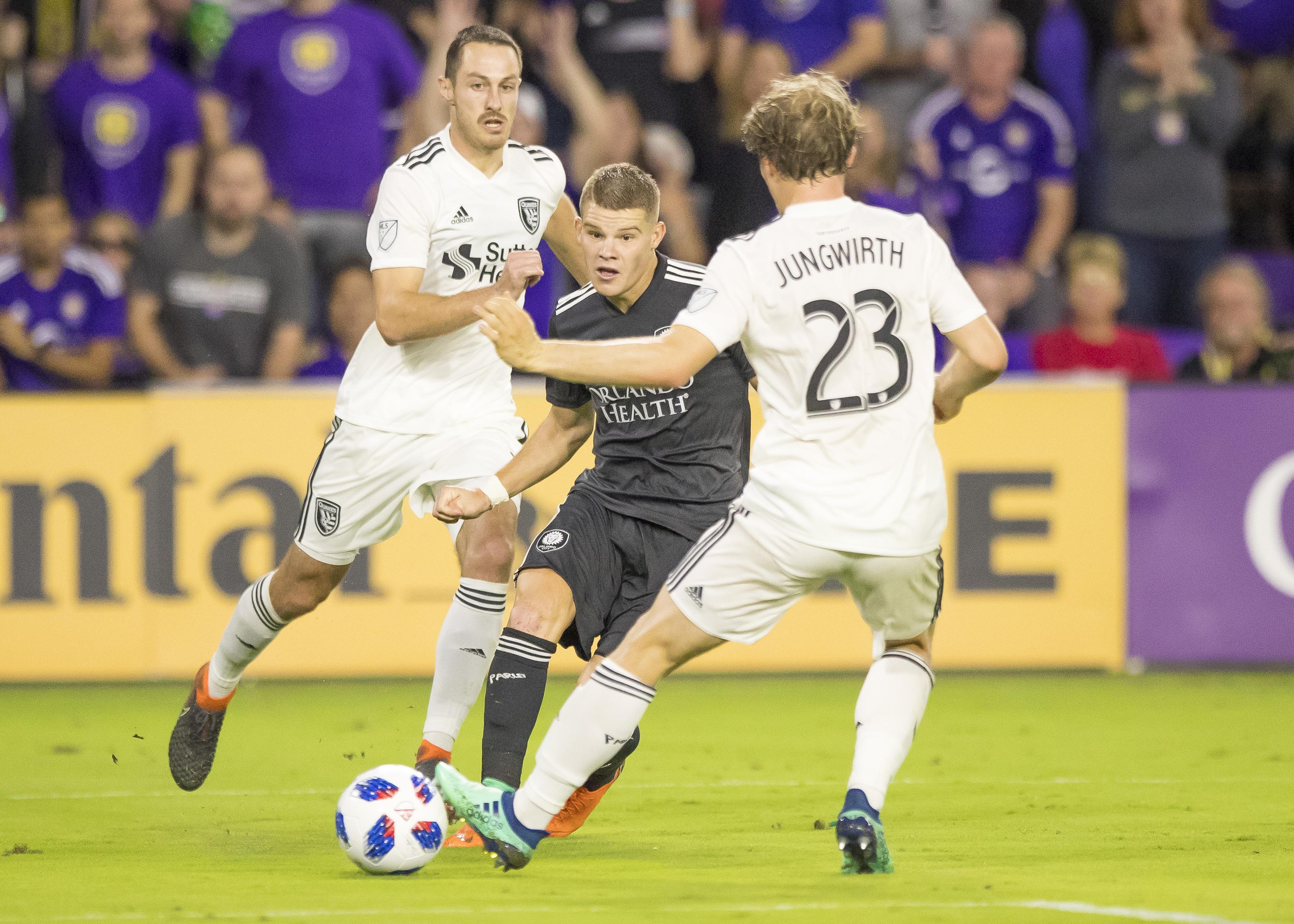 SOCCER: APR 21 MLS - San Jose Earthquakes at Orlando City SC
