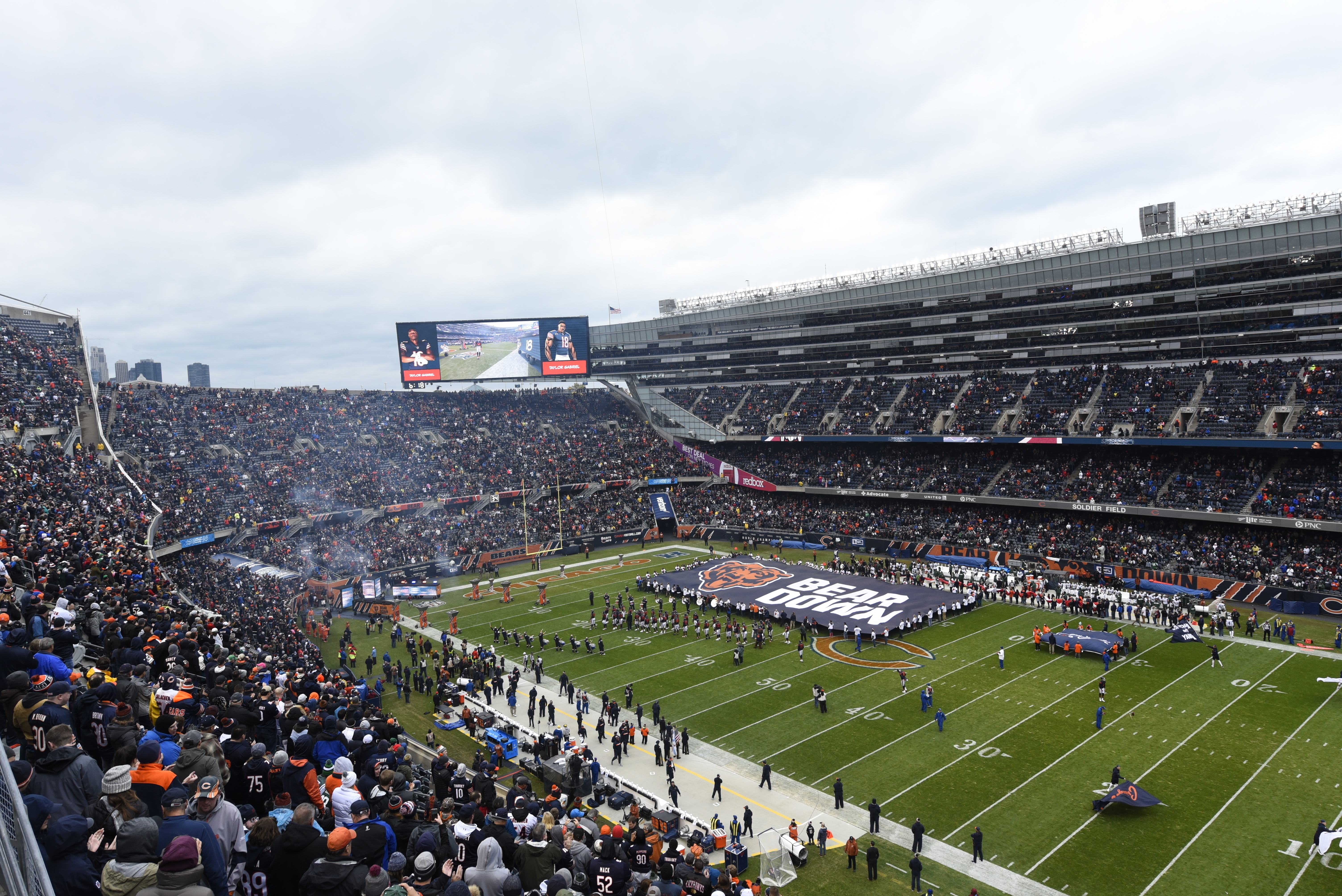 BetRivers and Rivers Casino will have in-stadium signage at Soldier Field under the new sponsorship agreement with the Bears.