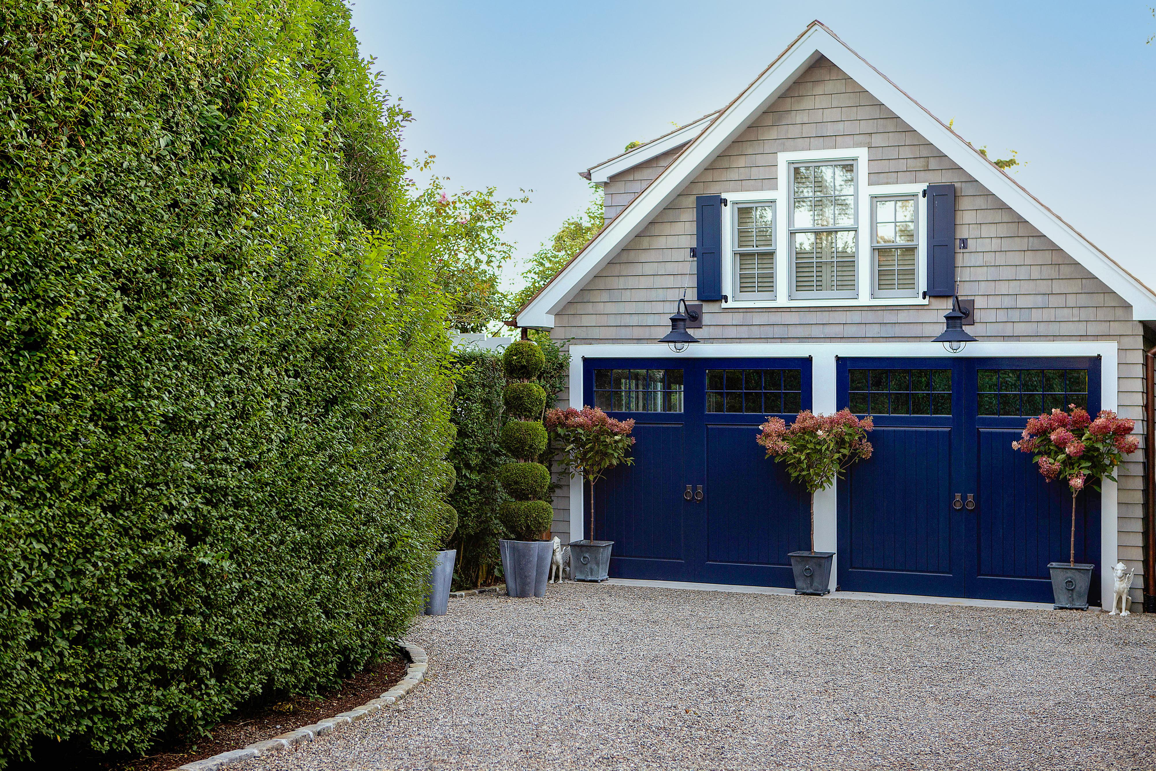 Exterior, separate Garage Door