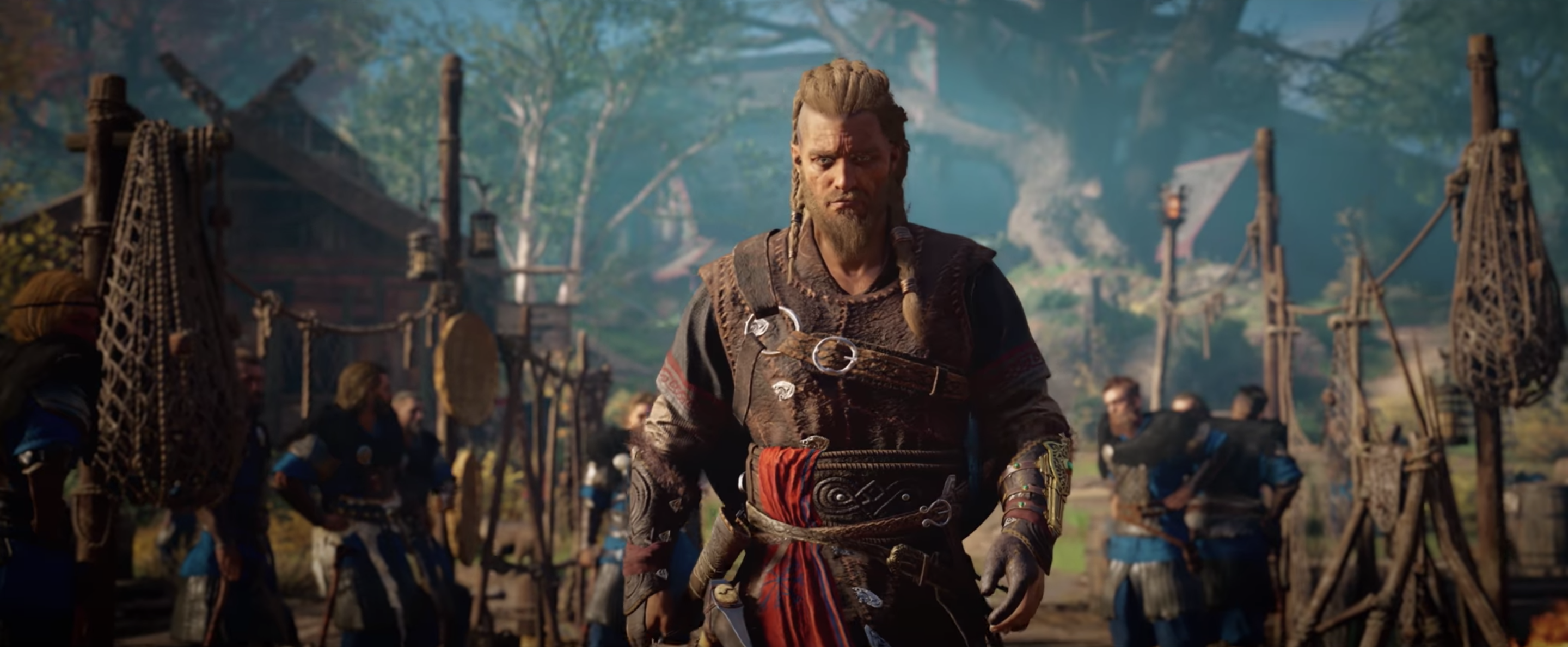 the male eivor in assassin's creed valhalla