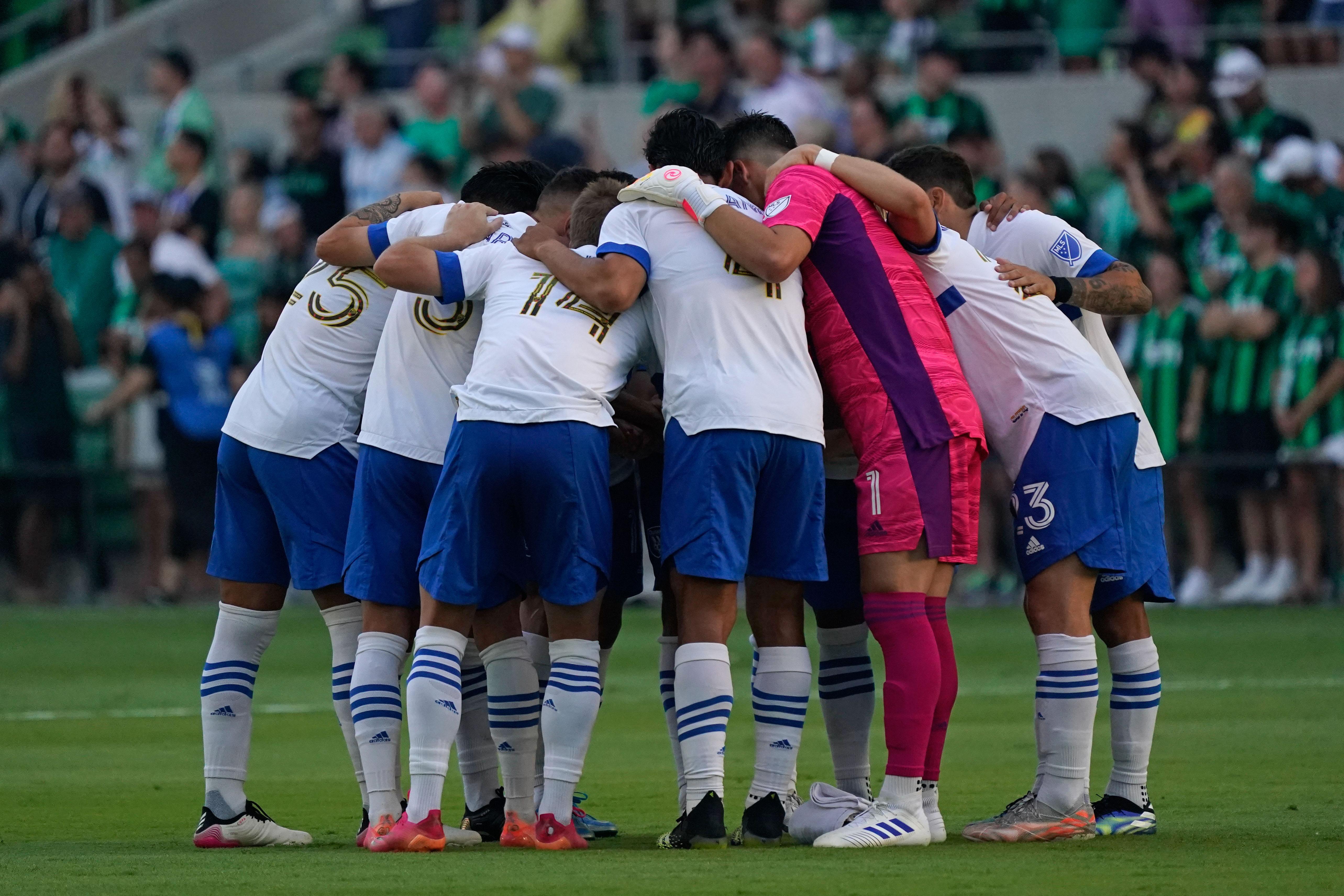 MLS: San Jose Earthquakes at Austin FC