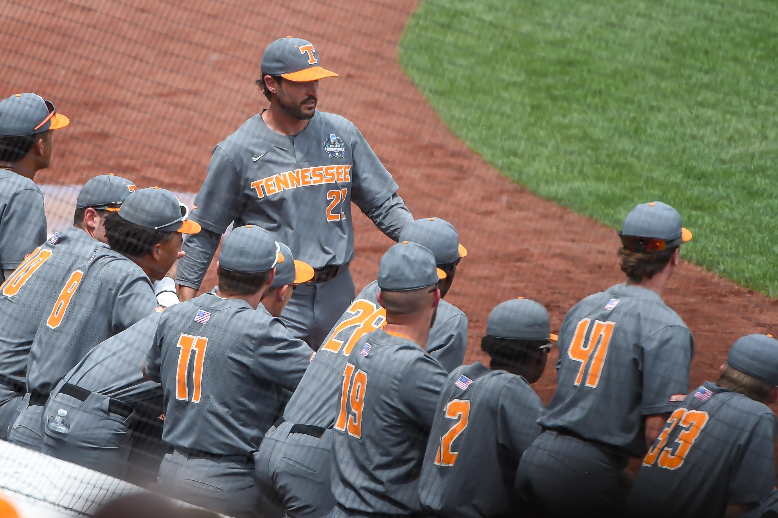 NCAA Baseball: College World Series-Tennessee v Texas