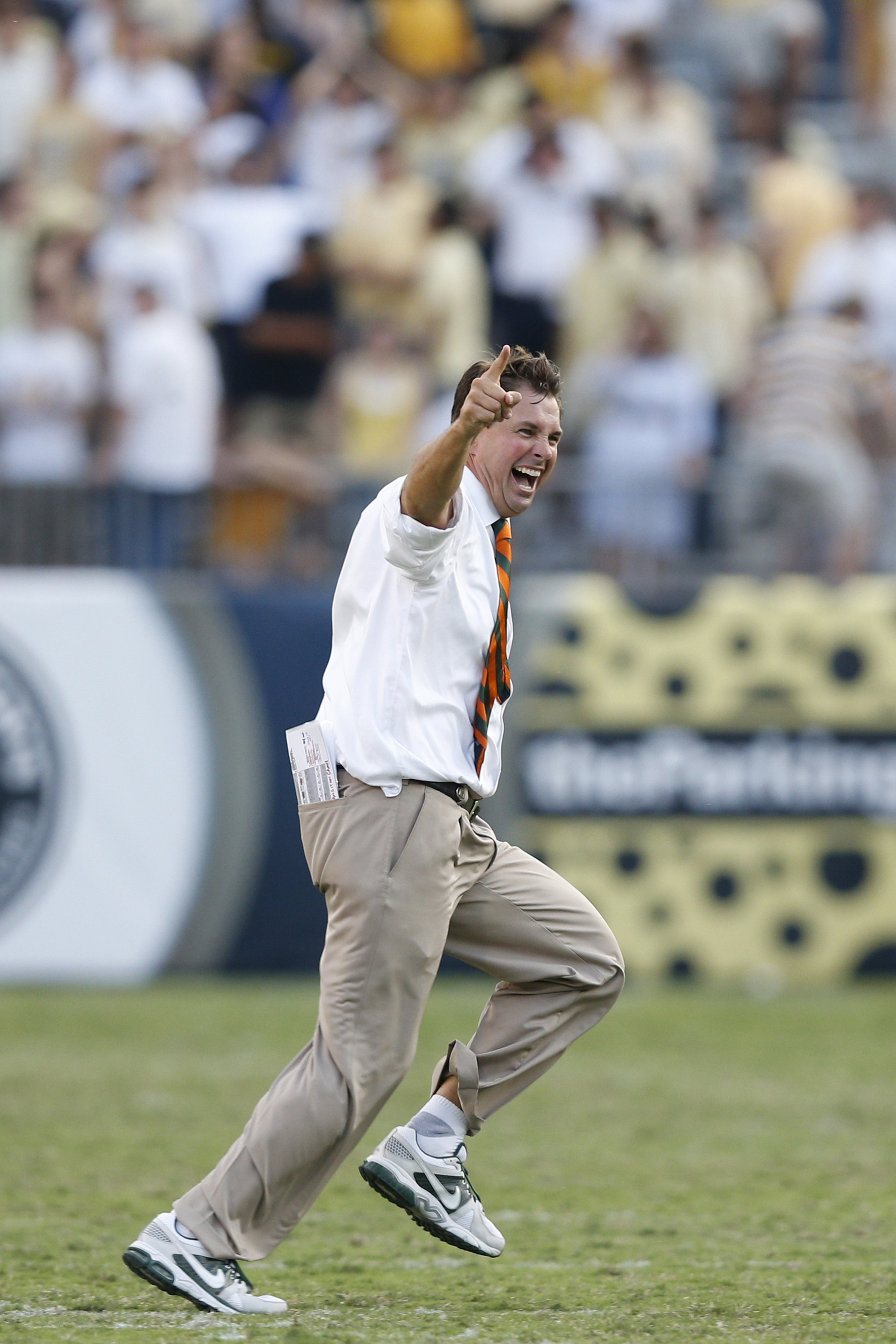 Yup. That's pretty much our reaction too, coach.