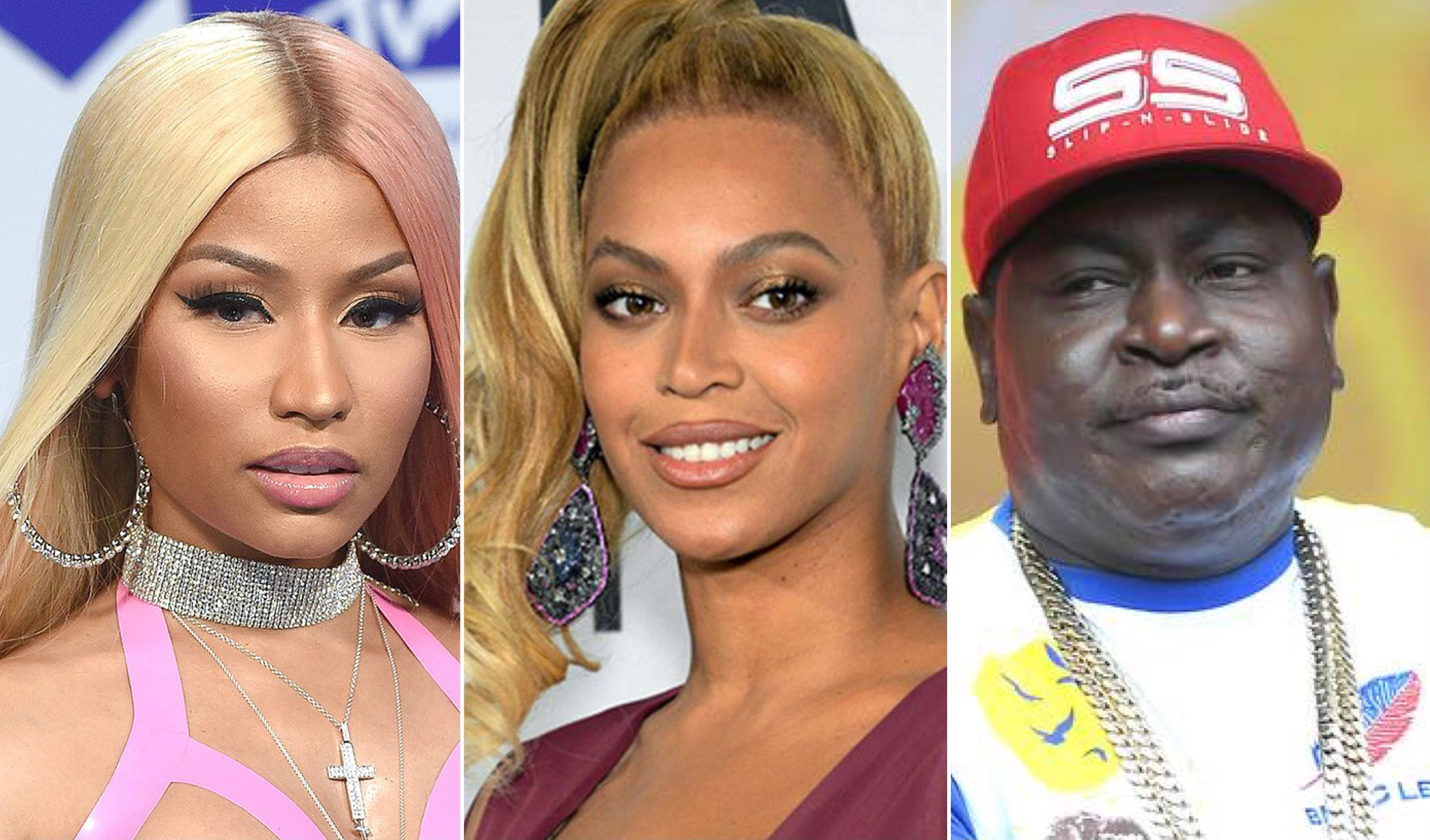 Nicki Minaj, Beyonce, Trick Daddy