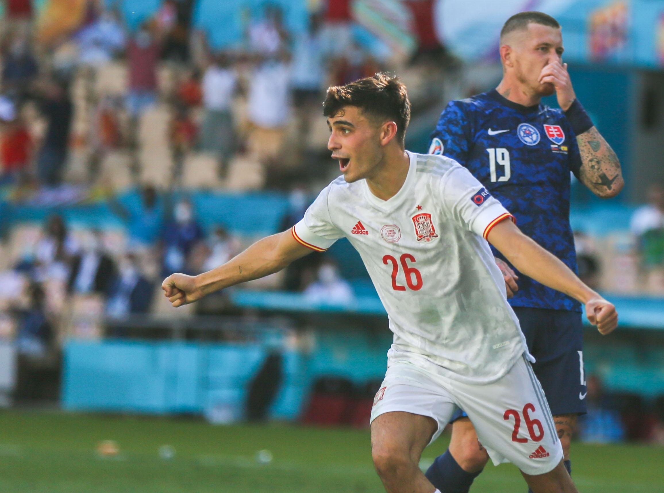 European Football Championship - Slovakia - Spain
