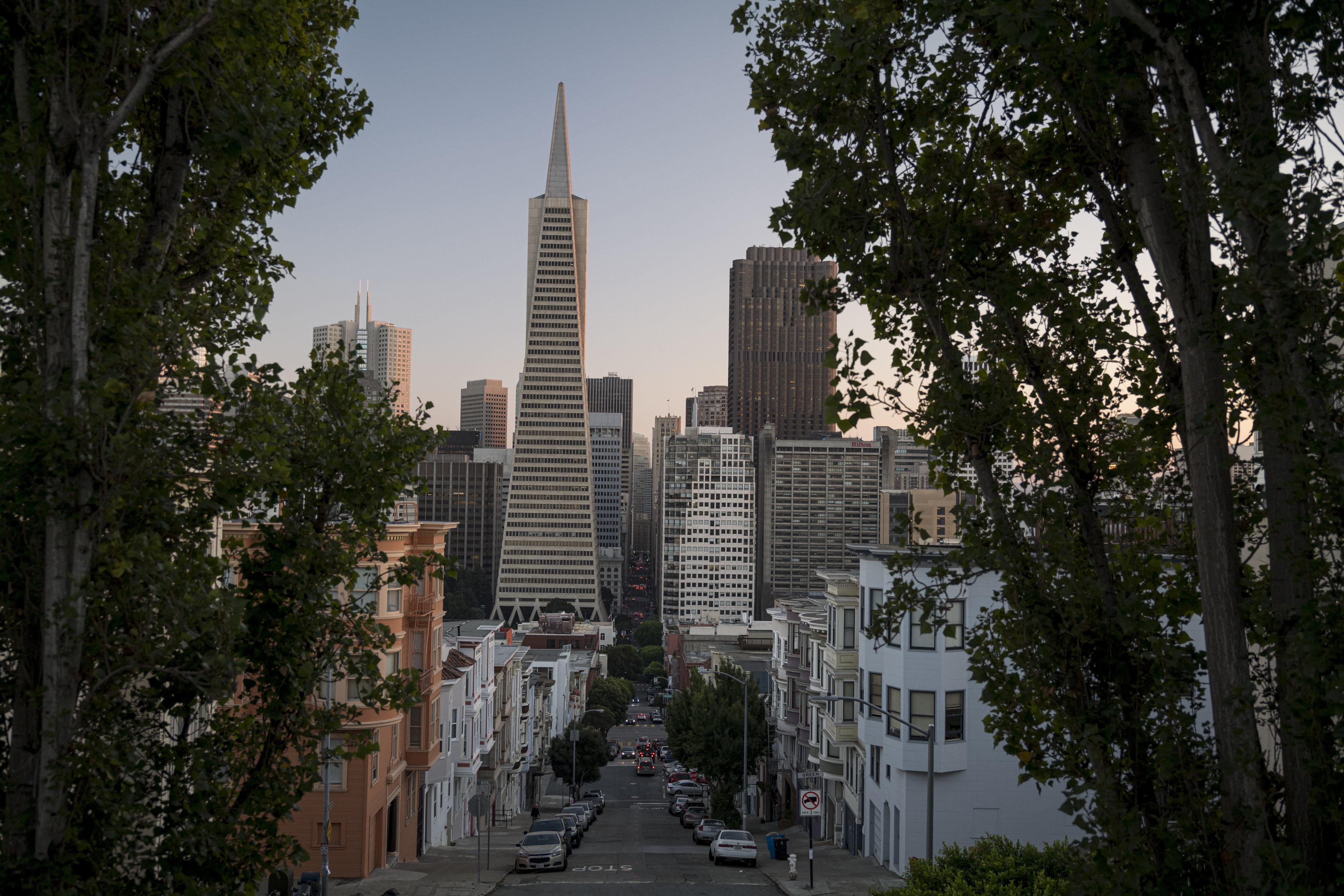 旧金山泛美金字塔的售价为6.5亿美元