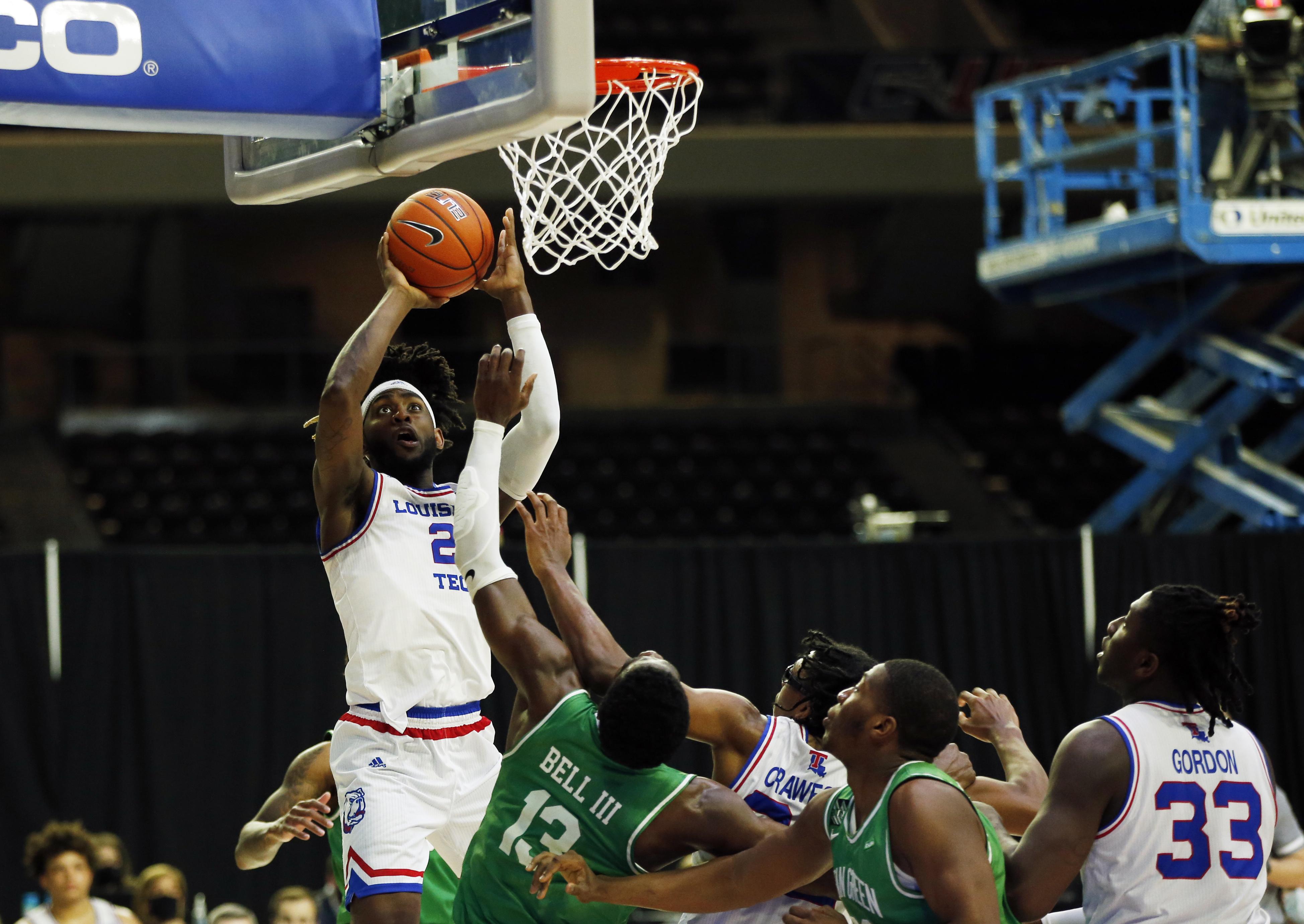 NCAA Basketball: Conference USA Tournament-North Texas vs Louisiana Tech