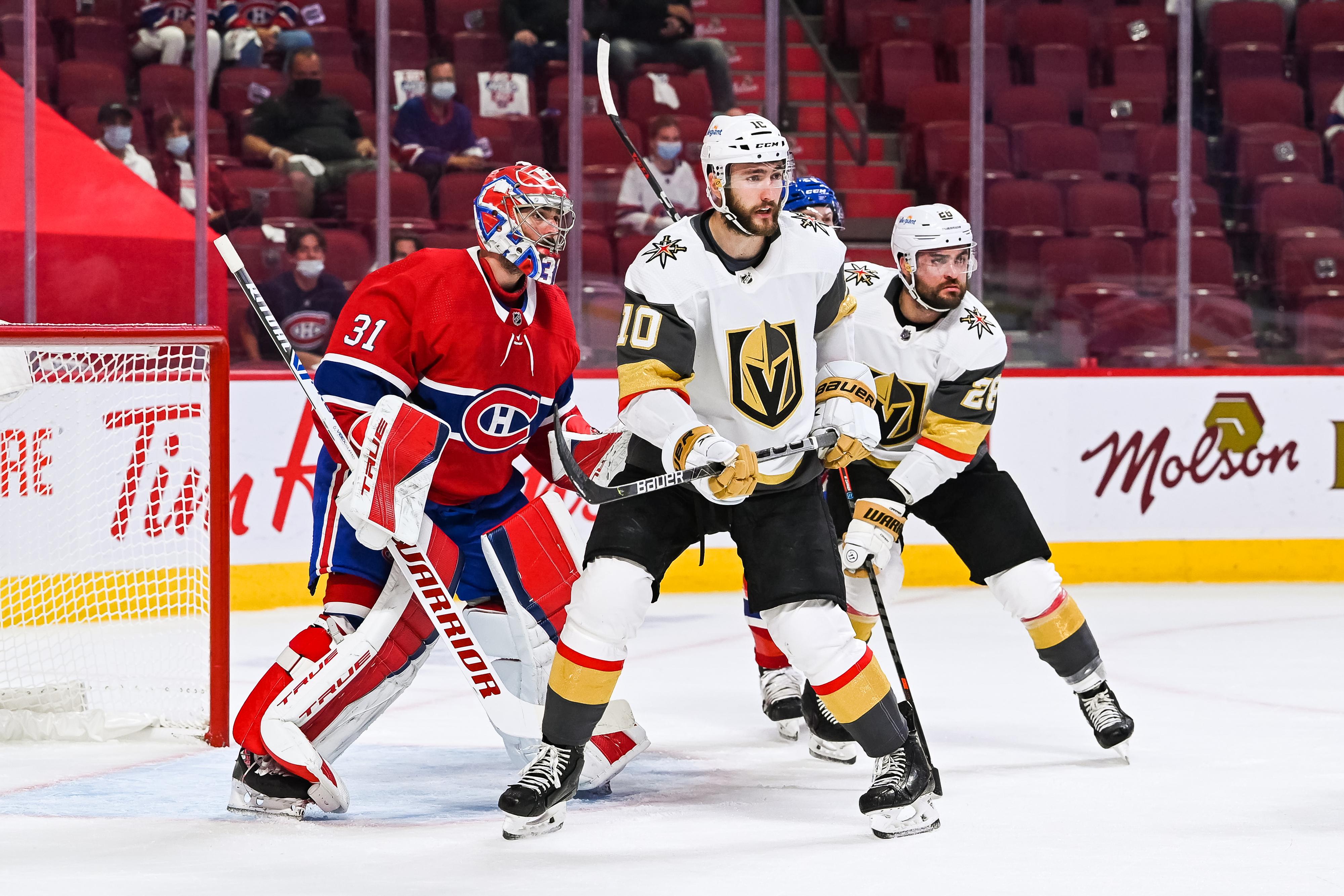 NHL: JUN 20 Stanley Cup Playoffs Semifinals - Golden Knights at Canadiens