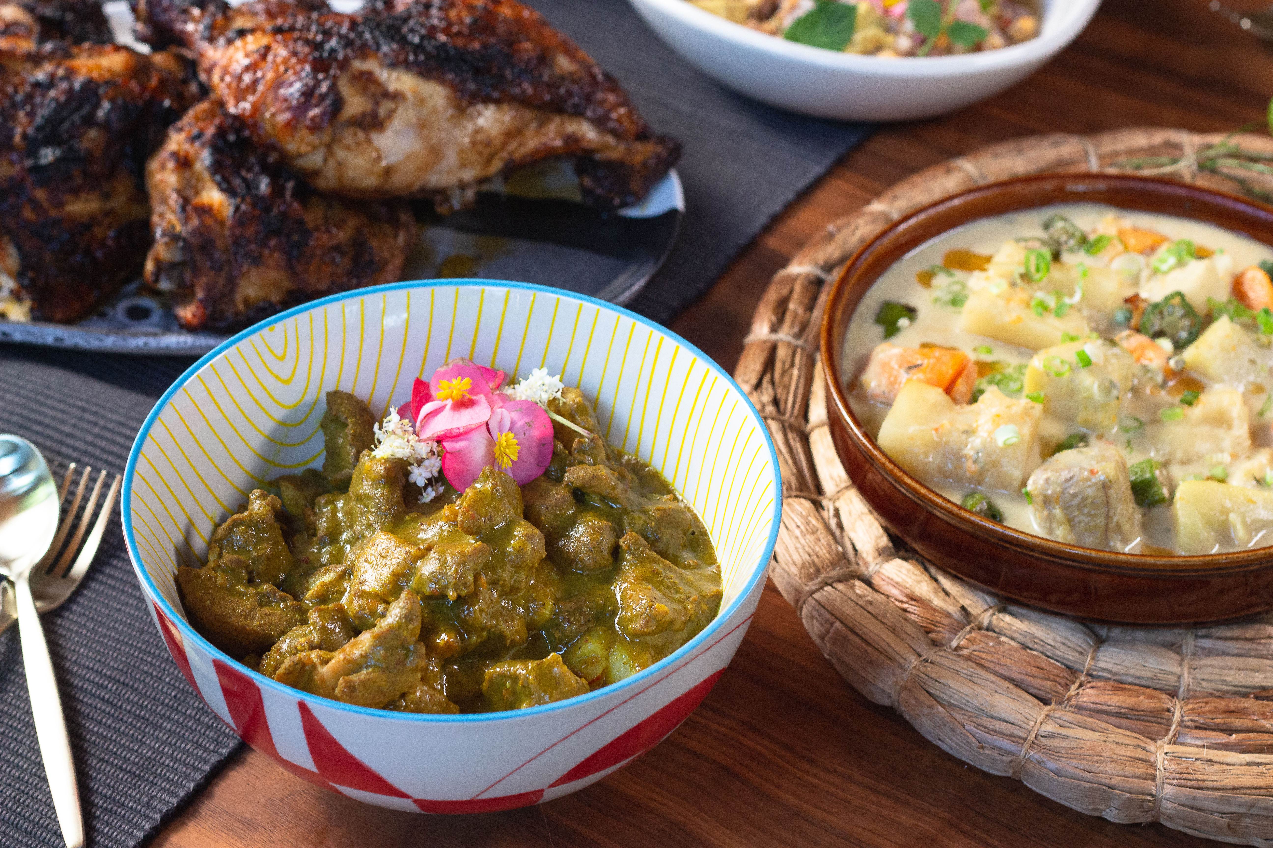 Dishes from Canje