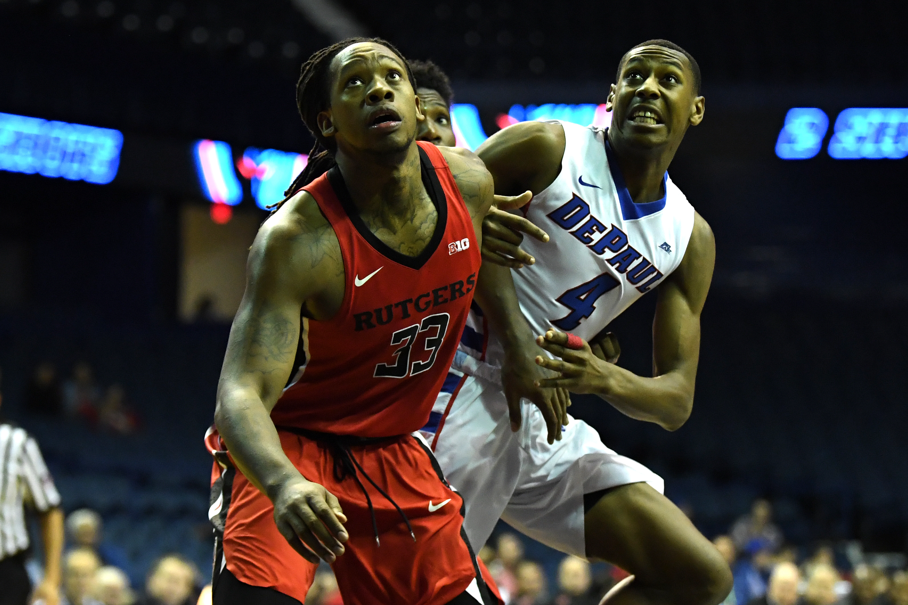 NCAA BASKETBALL: NOV 17 Rutgers at DePaul