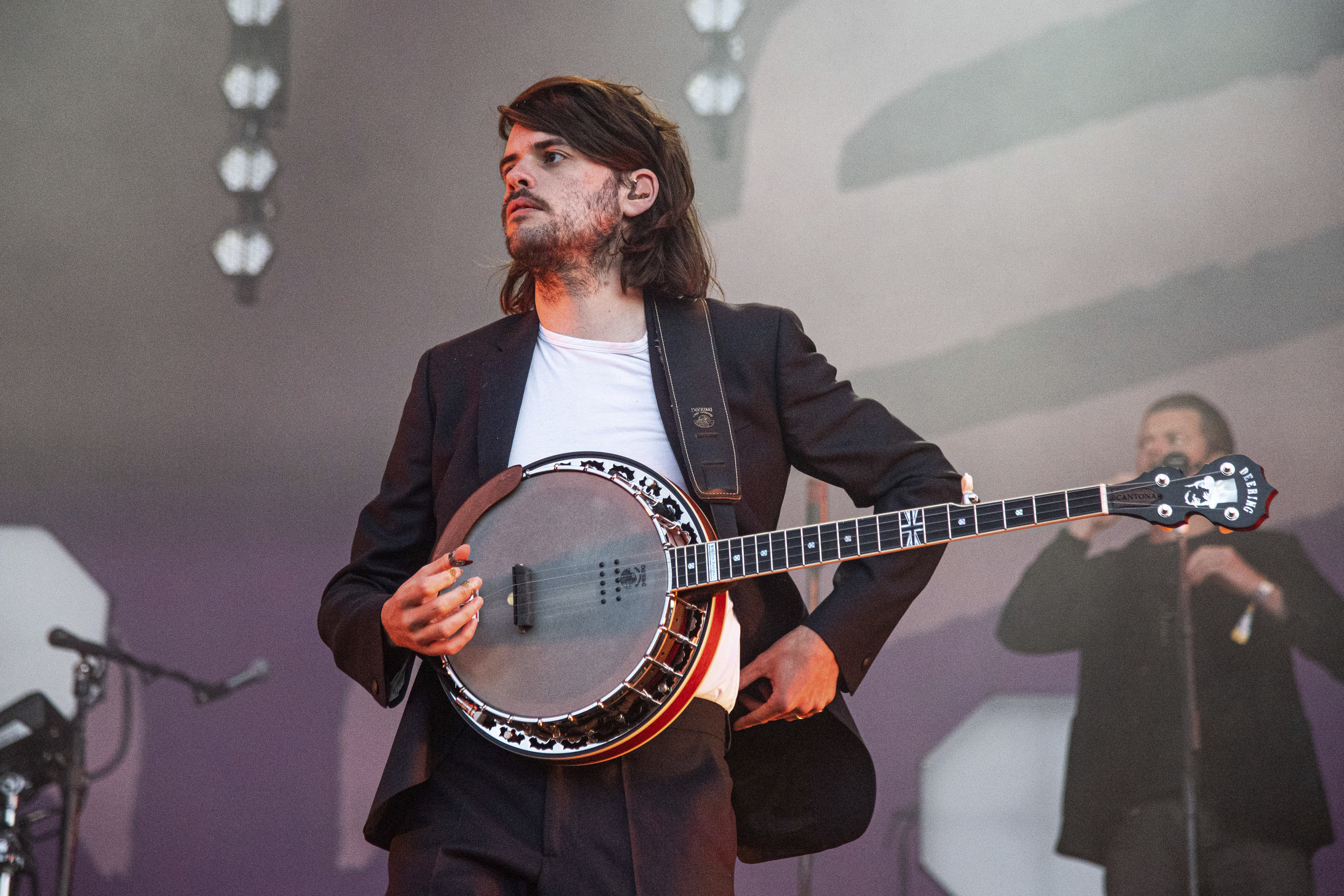 Winston Marshall of Mumford & Sons performs at the BottleRock Napa Valley Music Festival in 2019.