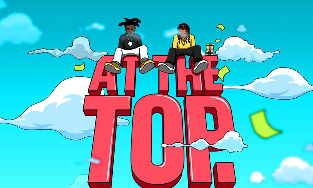 "Coi Leray's ""At The Top"" artwork"