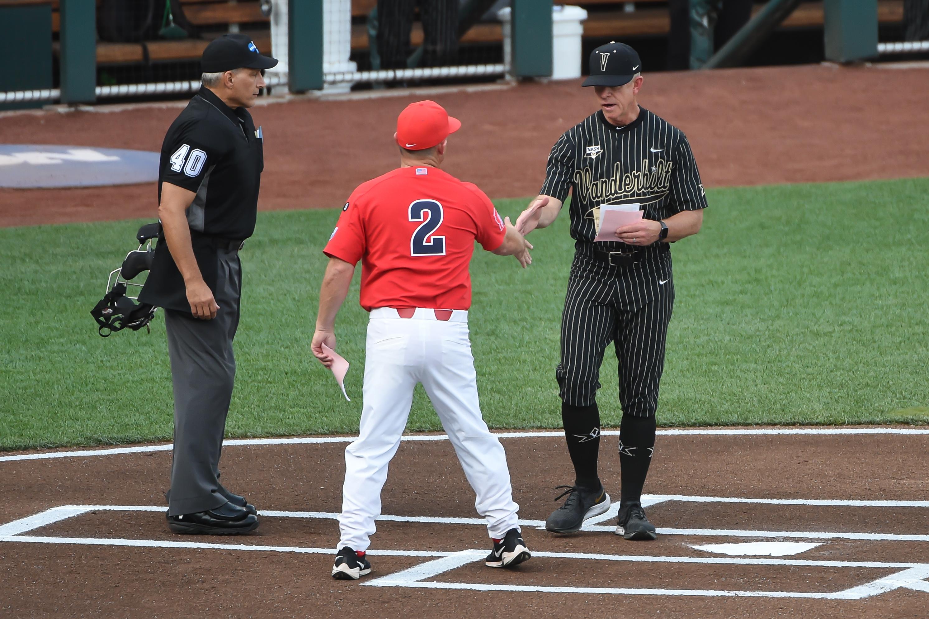 NCAA Baseball: College World Series-Arizona v Vanderbilt