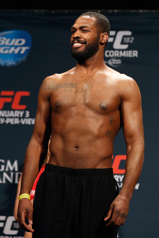UFC 182 Weigh-in