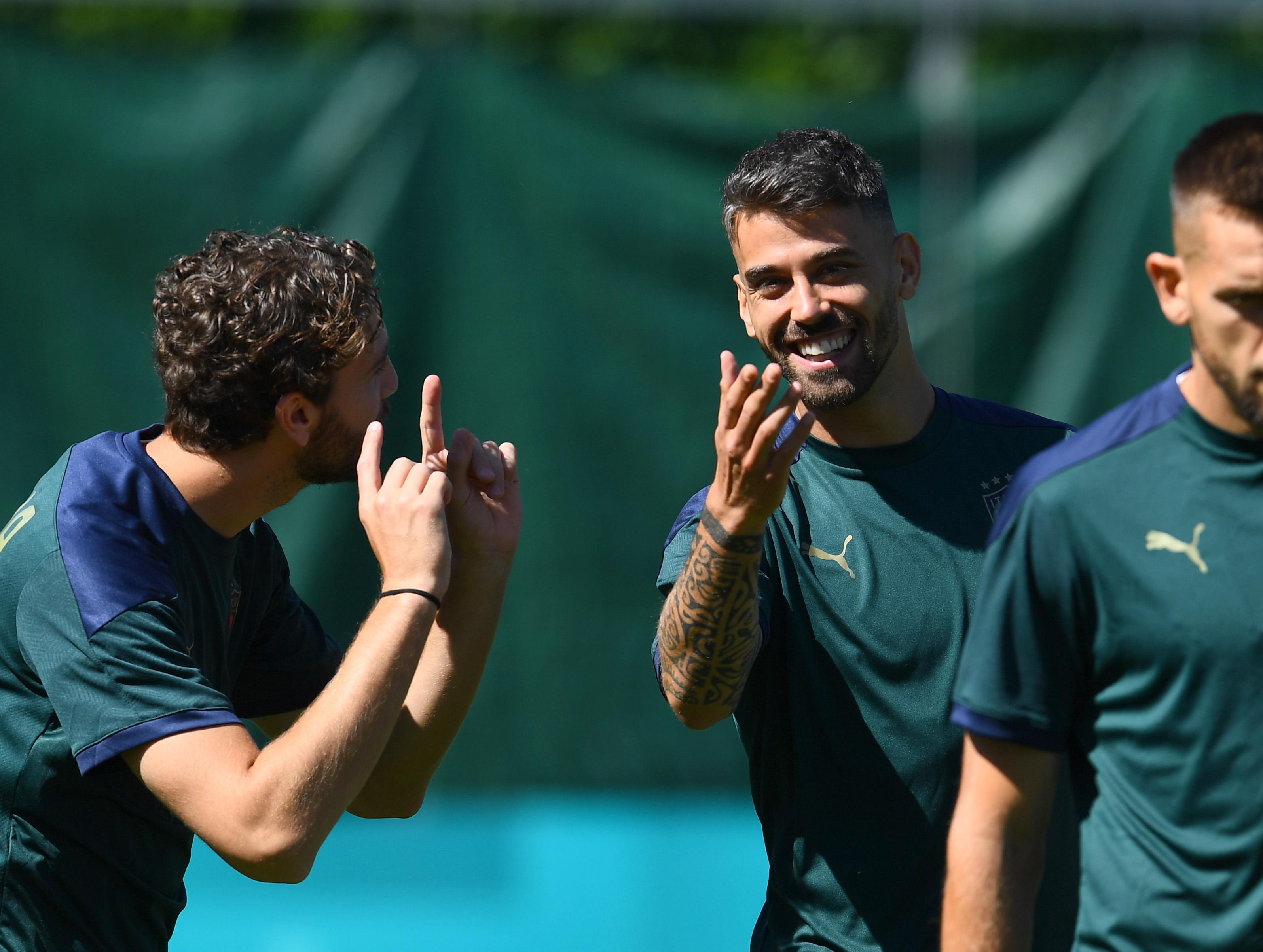 Italy Training Session - UEFA Euro 2020: Round of 16