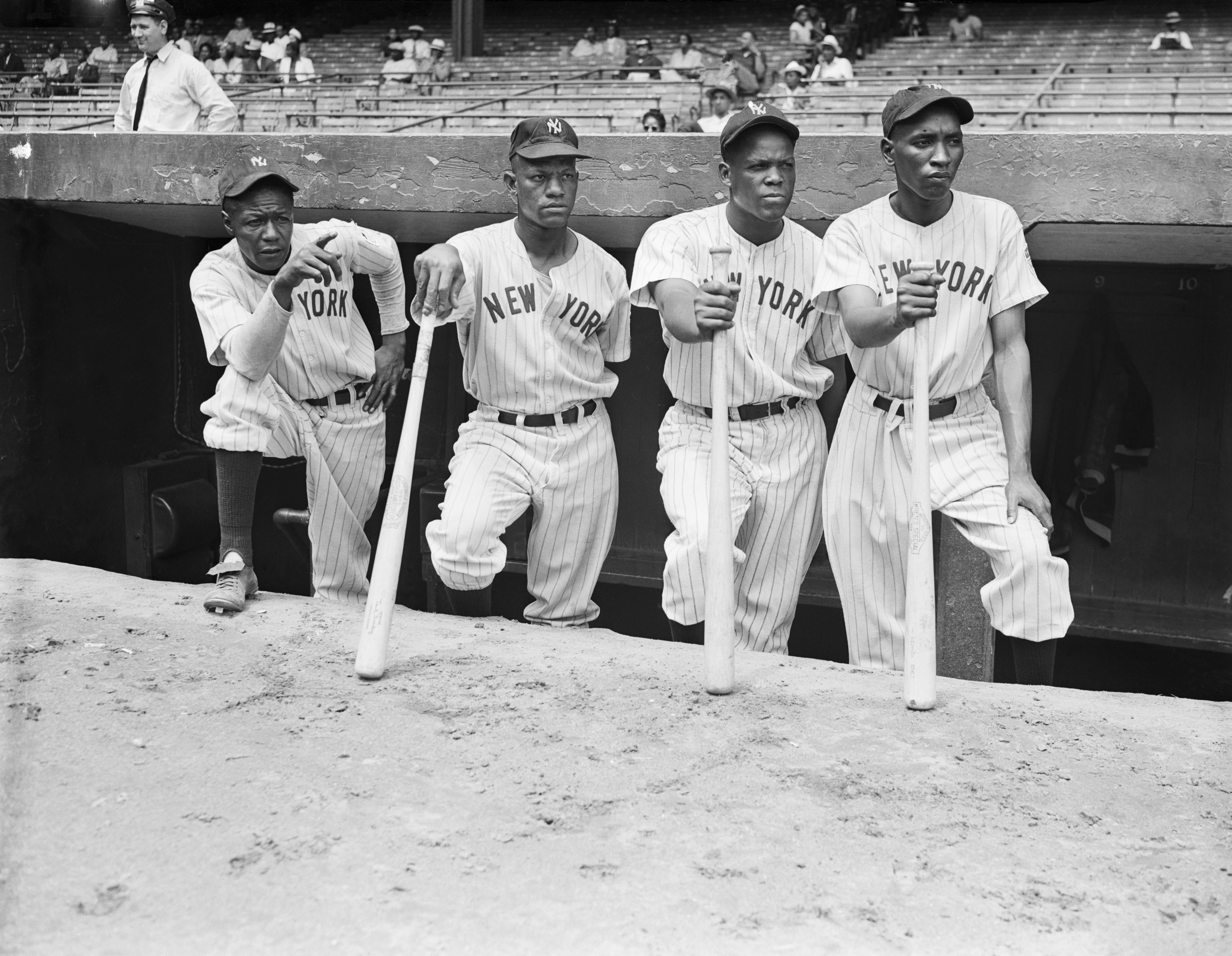 Players on the New York Black Yankees