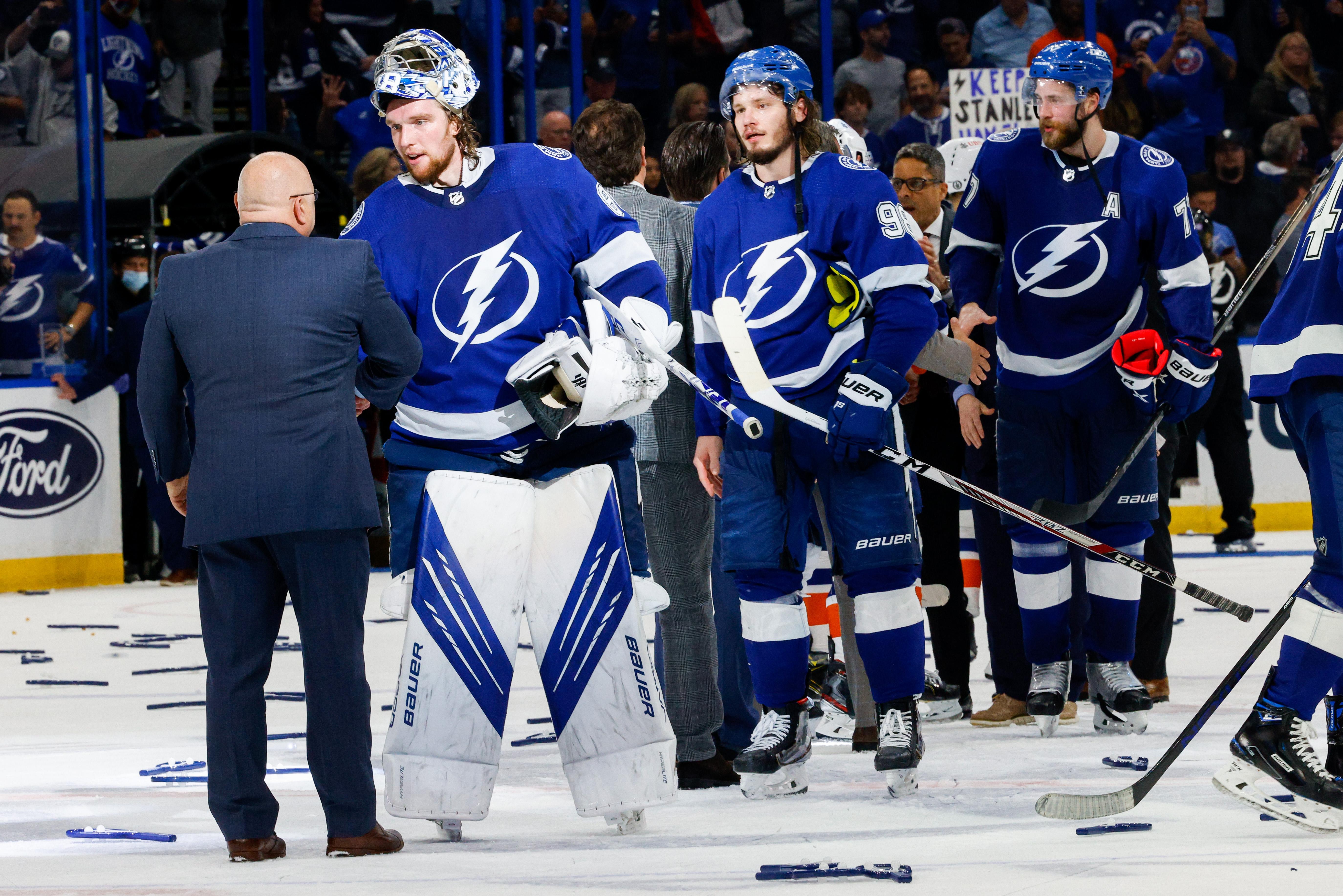 NHL: Stanley Cup Playoffs-New York Islanders at Tampa Bay Lightning