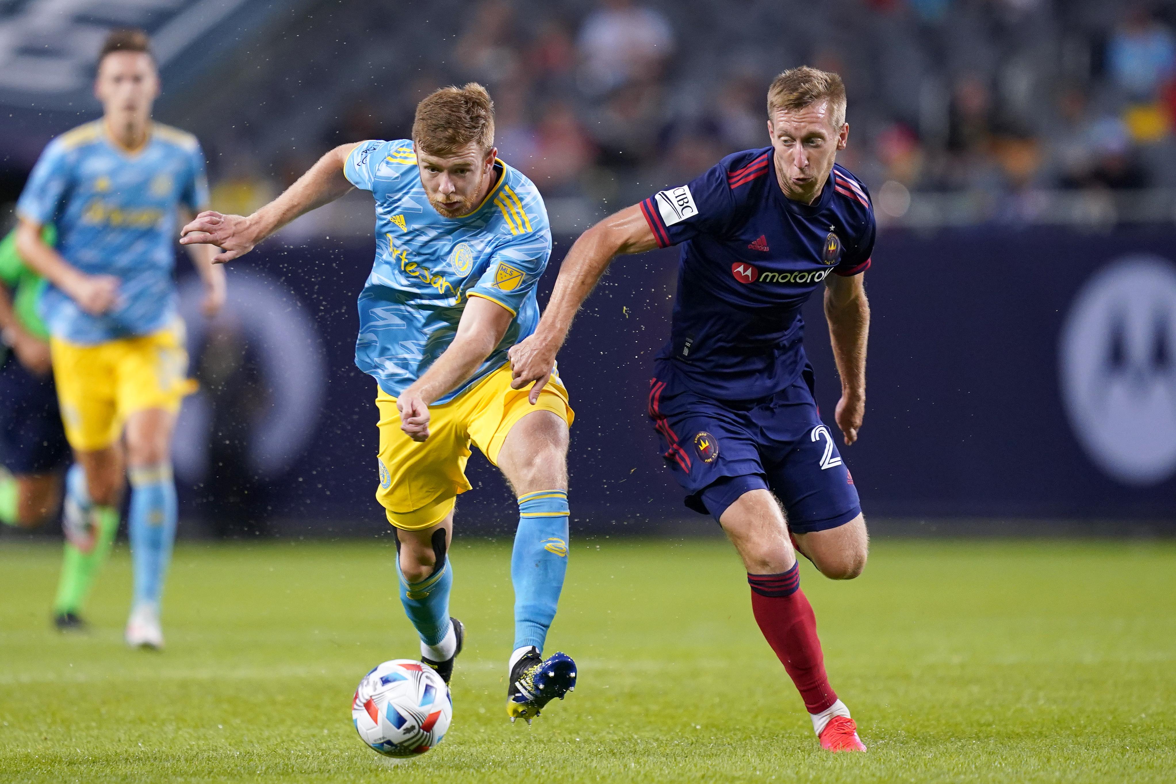 SOCCER: JUN 26 MLS - Philadelphia Union at Chicago Fire FC