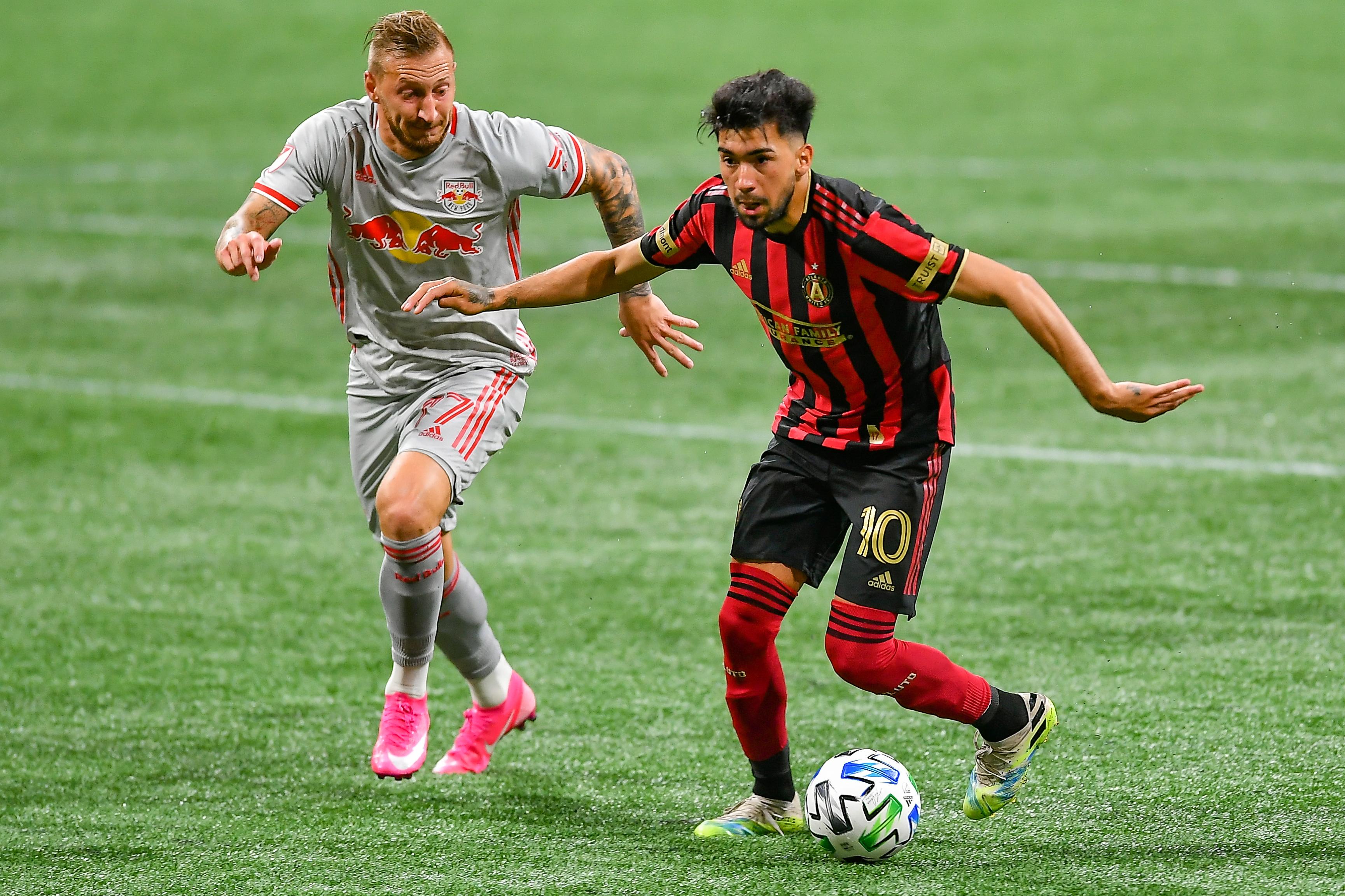 SOCCER: OCT 10 MLS - New York Red Bulls at Atlanta United FC