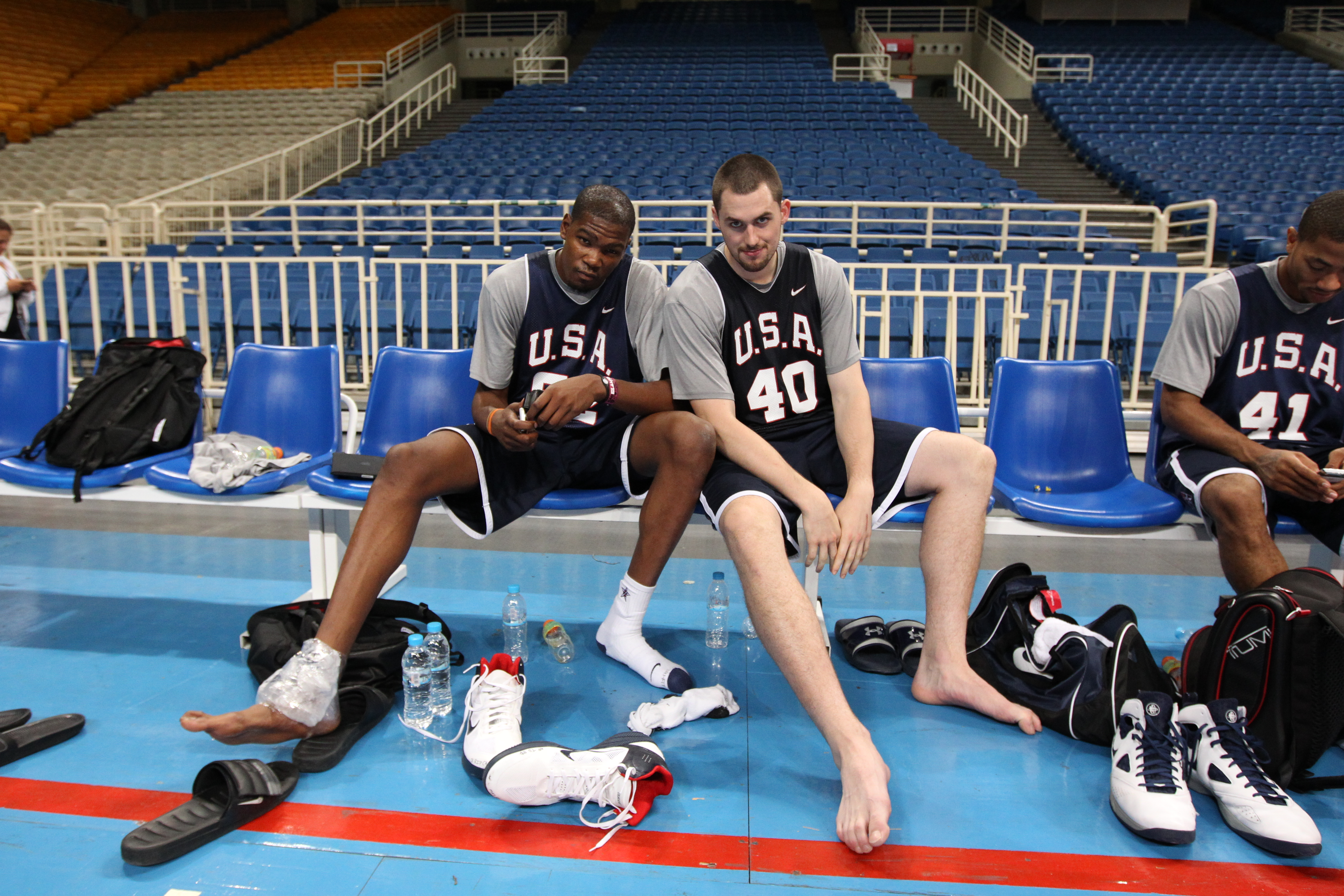 USA Basketball Practice In Athens