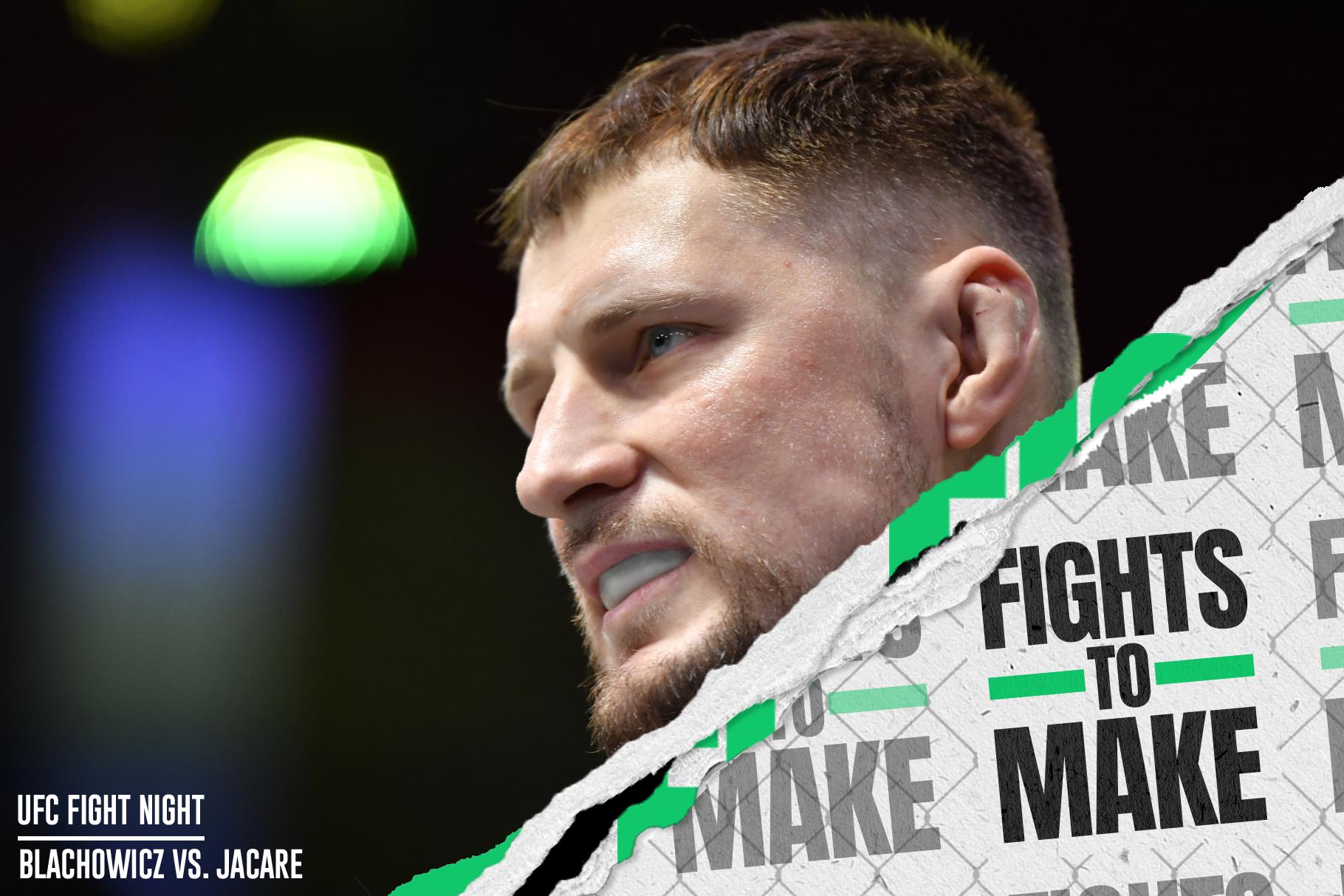Alexander Volkov prior to his fight with Ciryl Gane at UFC Vegas 30