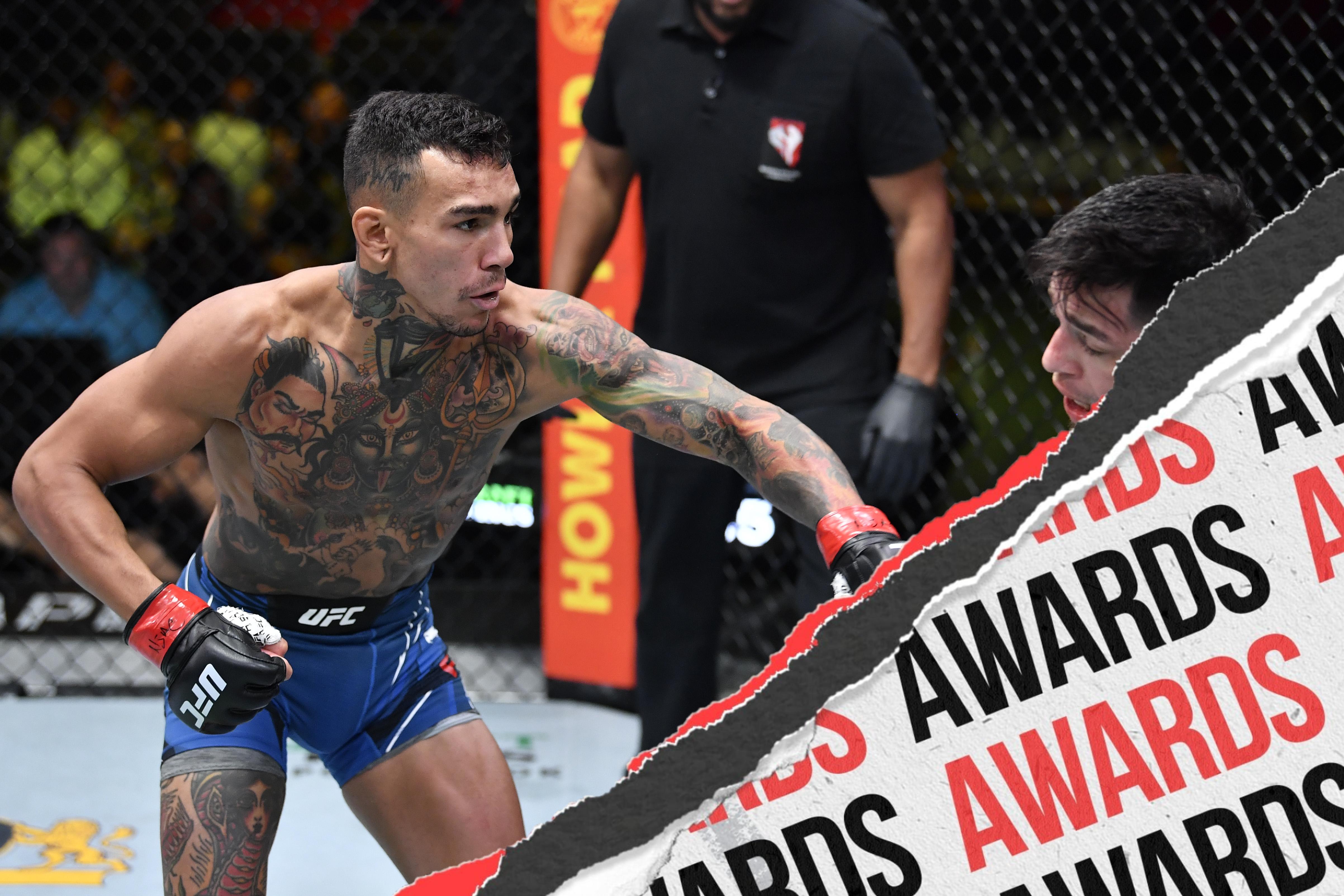 Andre Fili fighting Daniel Pineda at UFC Vegas 30