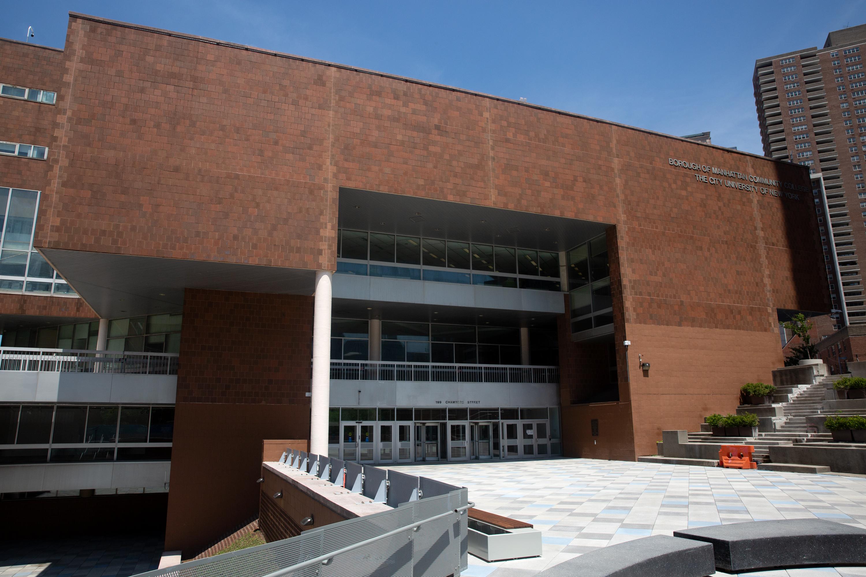 The Borough of Manhattan Community College in TriBeCa, June 28, 2021.