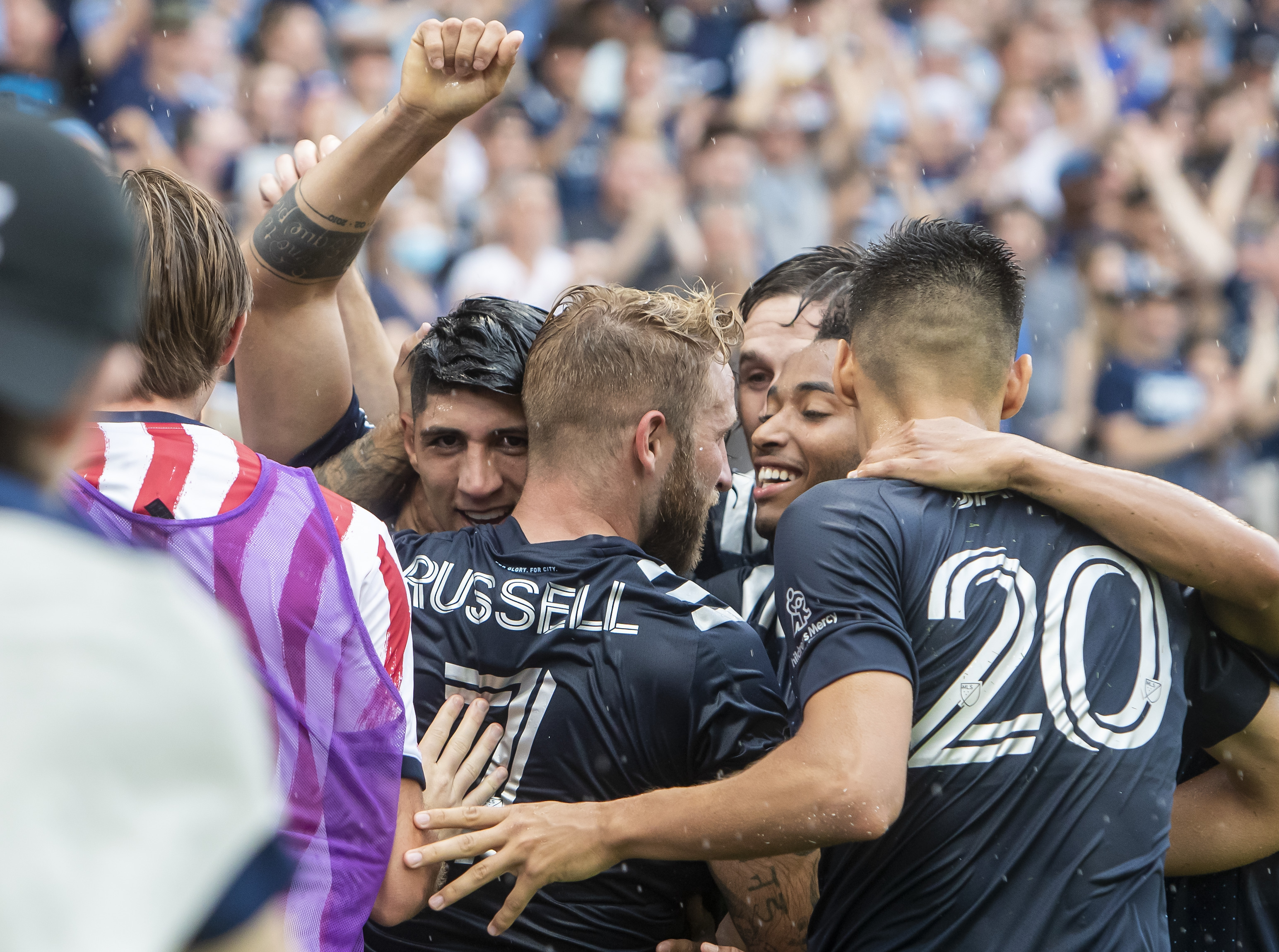 SOCCER: JUN 26 MLS - LAFC at Sporting Kansas City