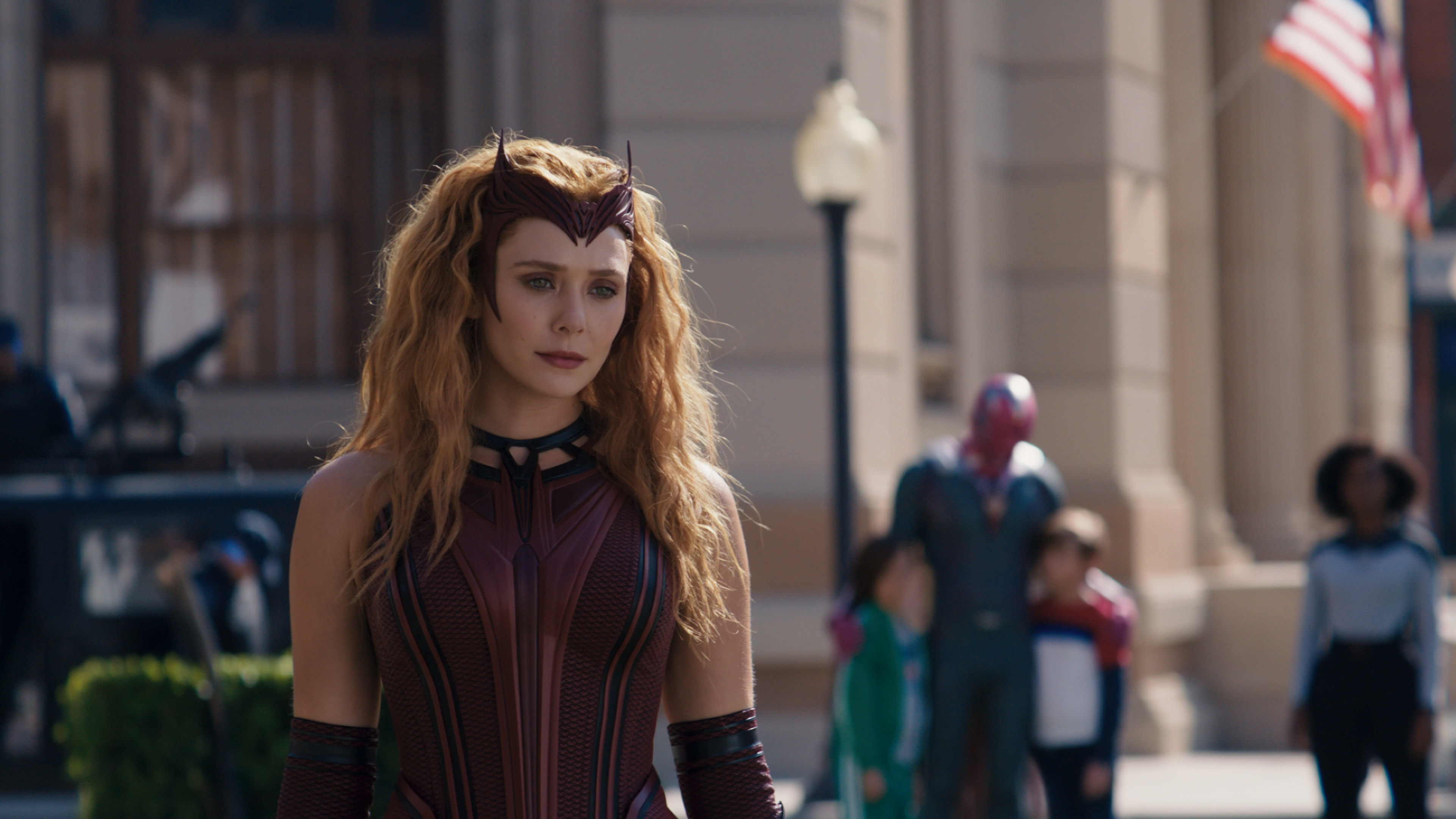 "Scarlet Witch/Wanda Maximoff in ""WandaVision."""