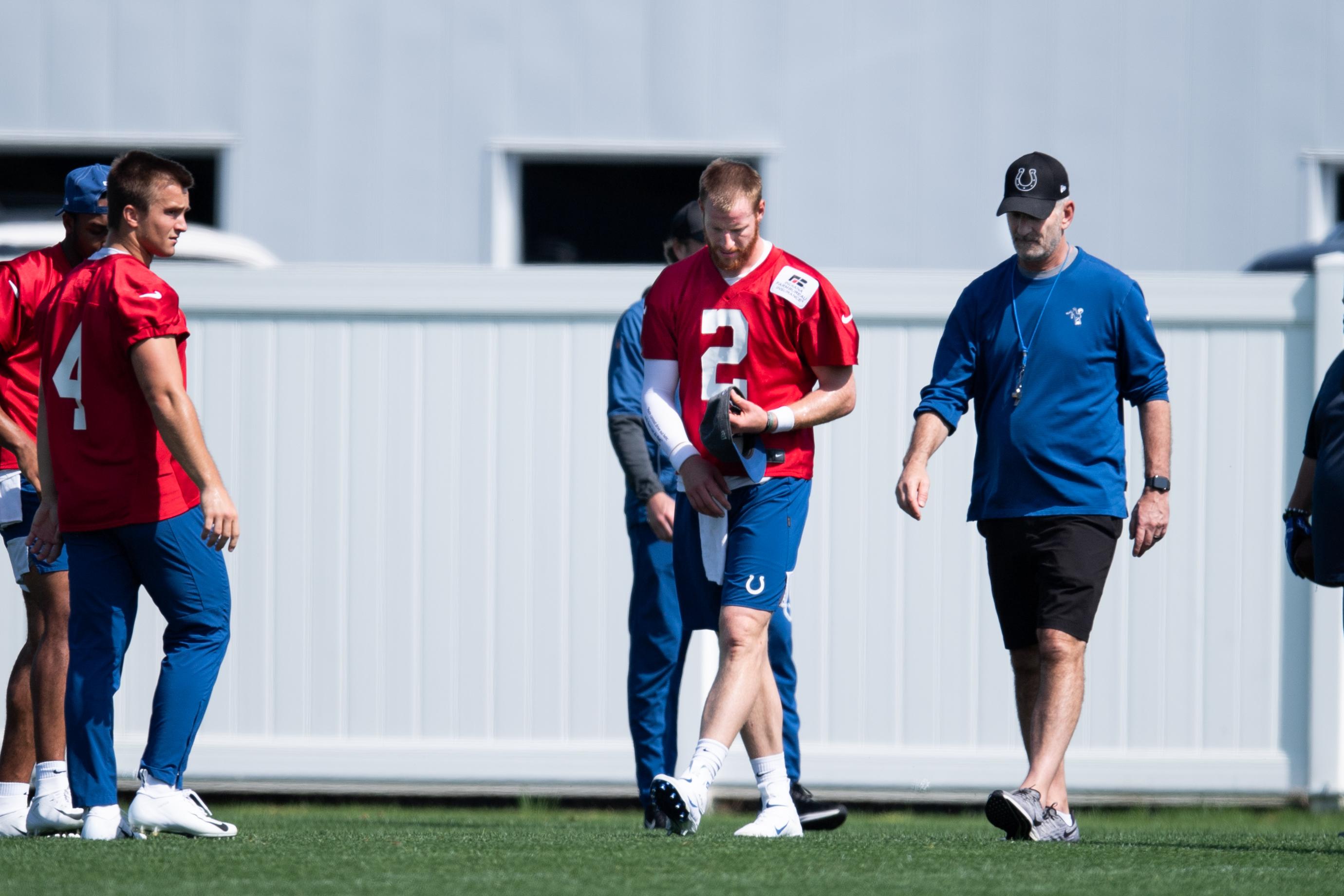 NFL: MAY 20 Colts OTA