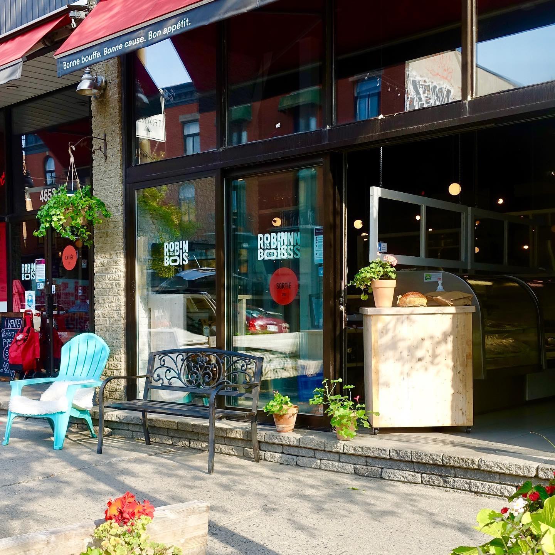 restaurant storefront