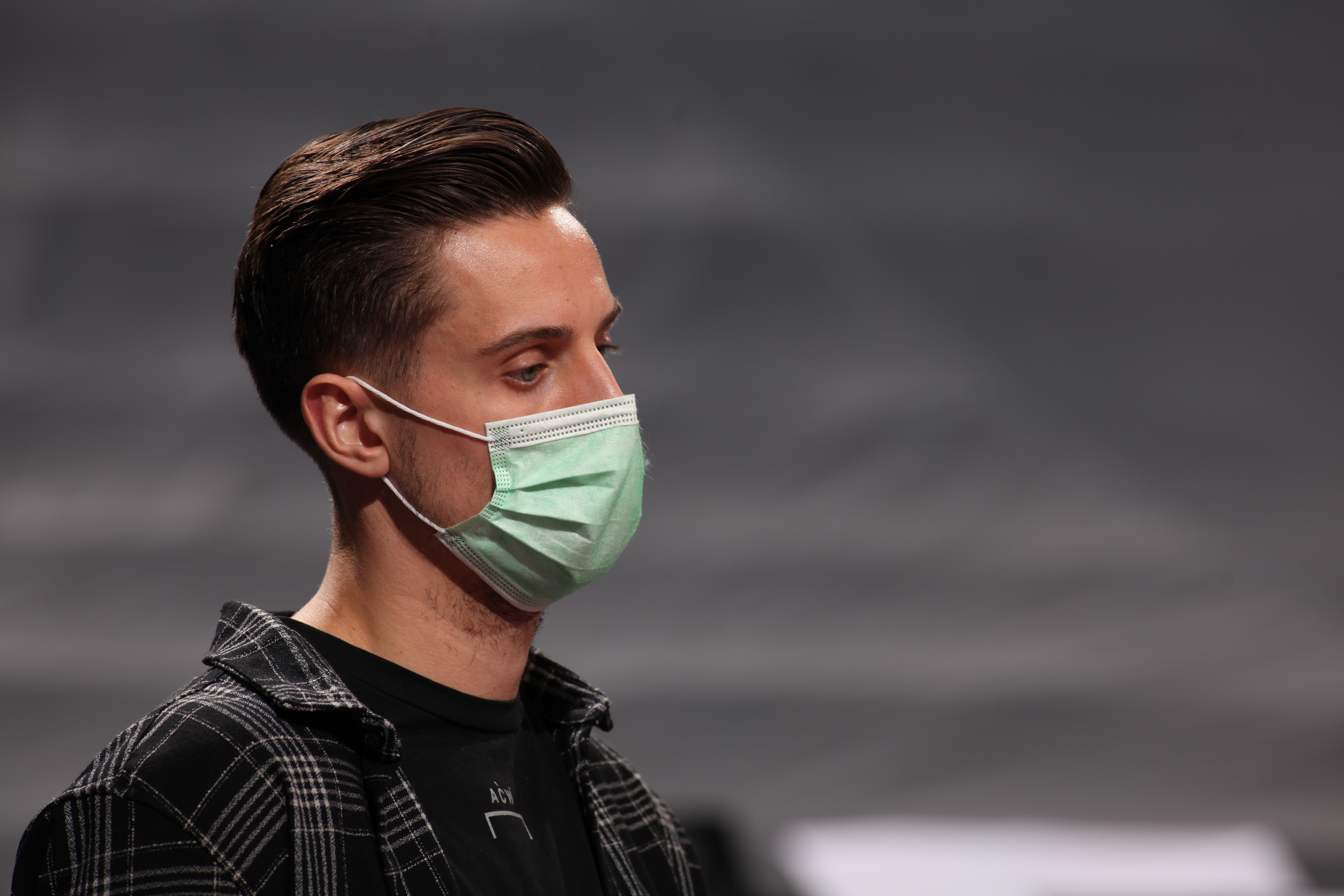 Zach Collins #33 of the Portland Trail Blazers looks on during the game against the Utah Jazz on December 23, 2020 at the Moda Center Arena in Portland, Oregon.