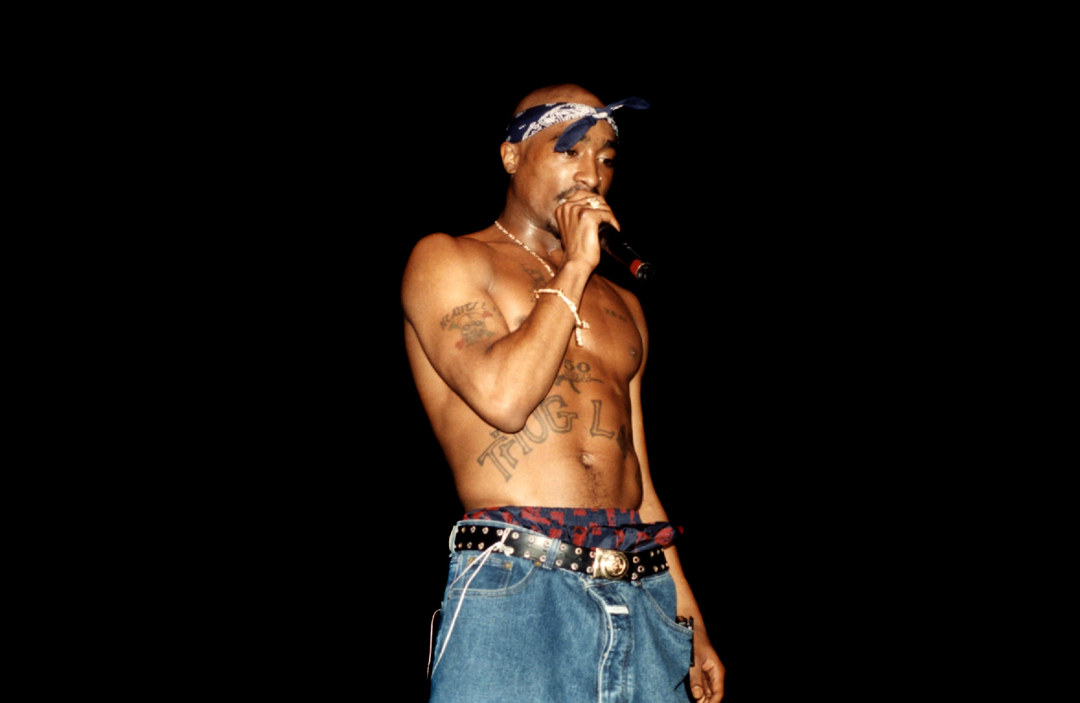 Tupac Shakur现场音乐会