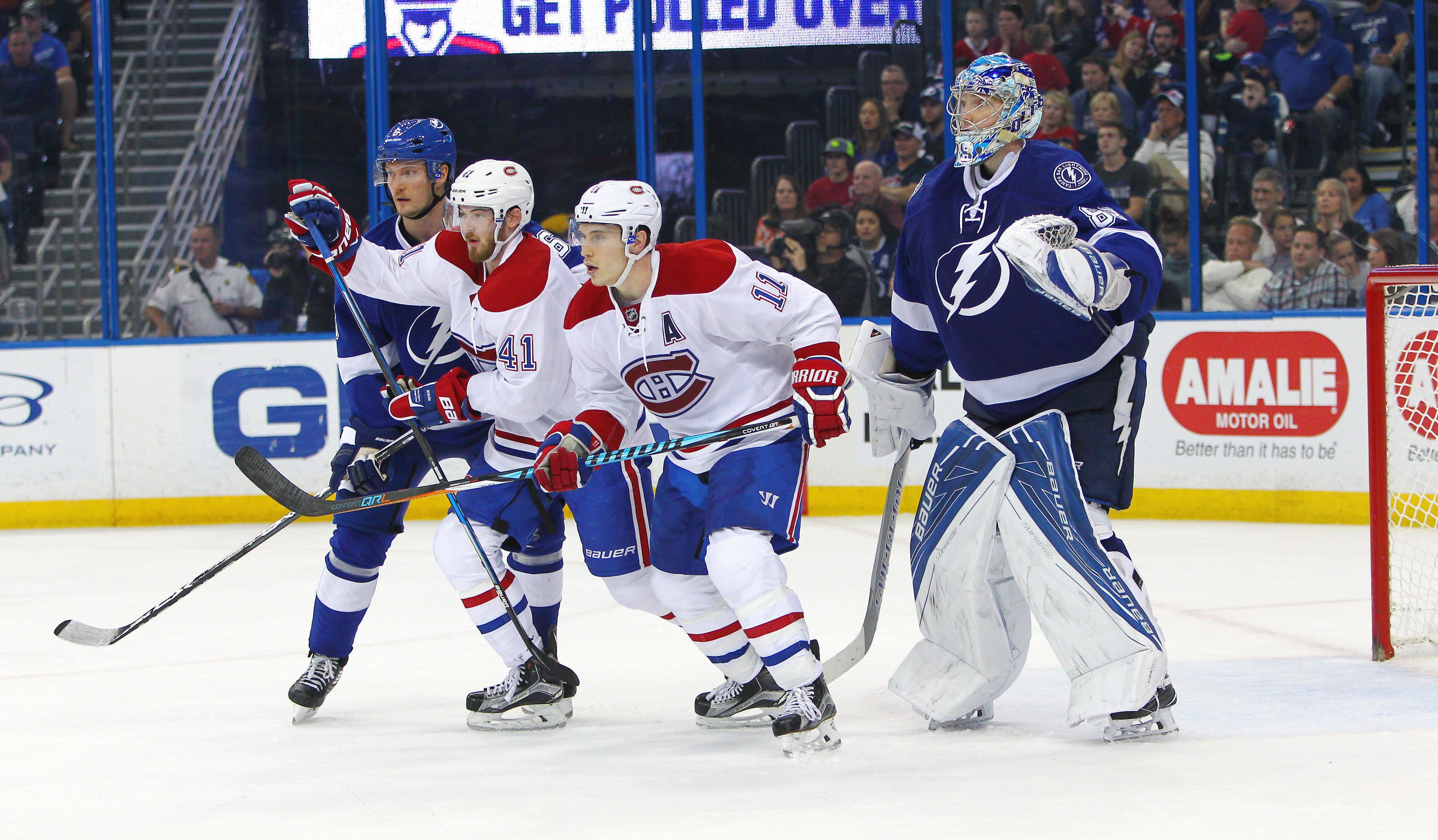 NHL: DEC 28 Canadiens at Lightning