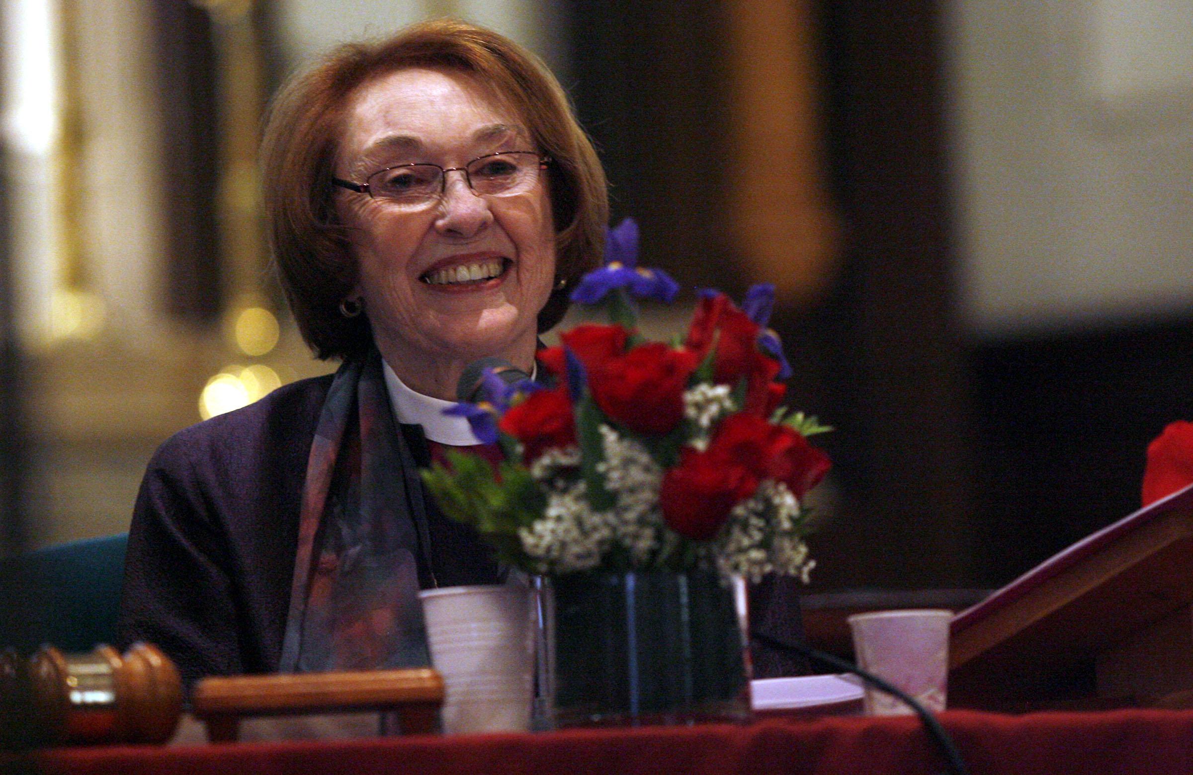 The Right Rev. Carolyn Tanner Irish.