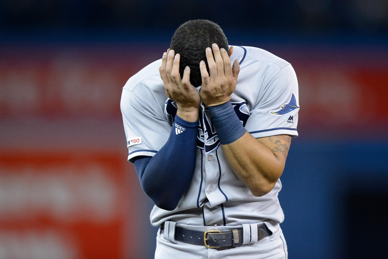 MLB: APR 12 Rays at Blue Jays