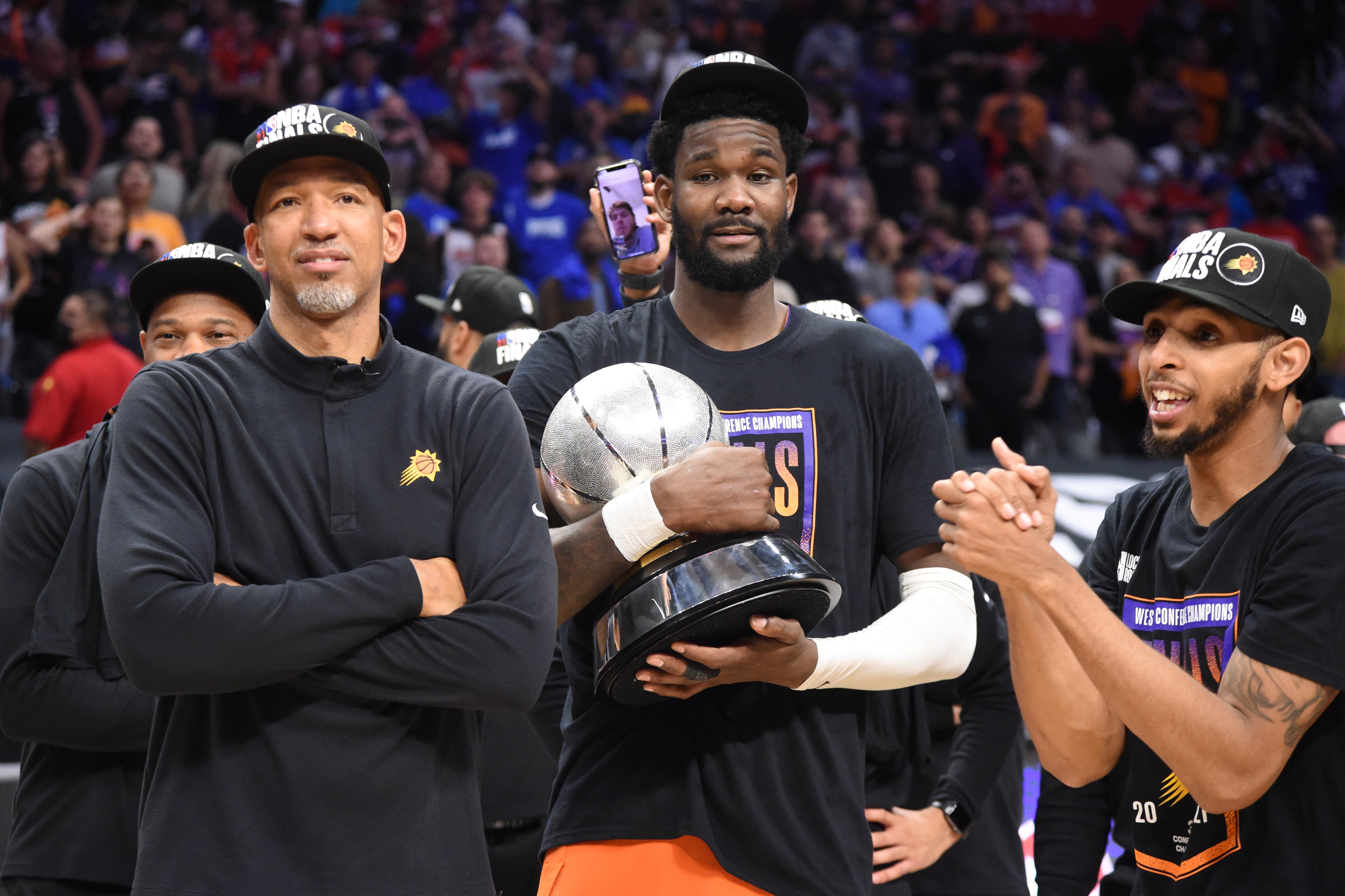 2021年NBA季后赛-菲尼克斯太阳队对快船队