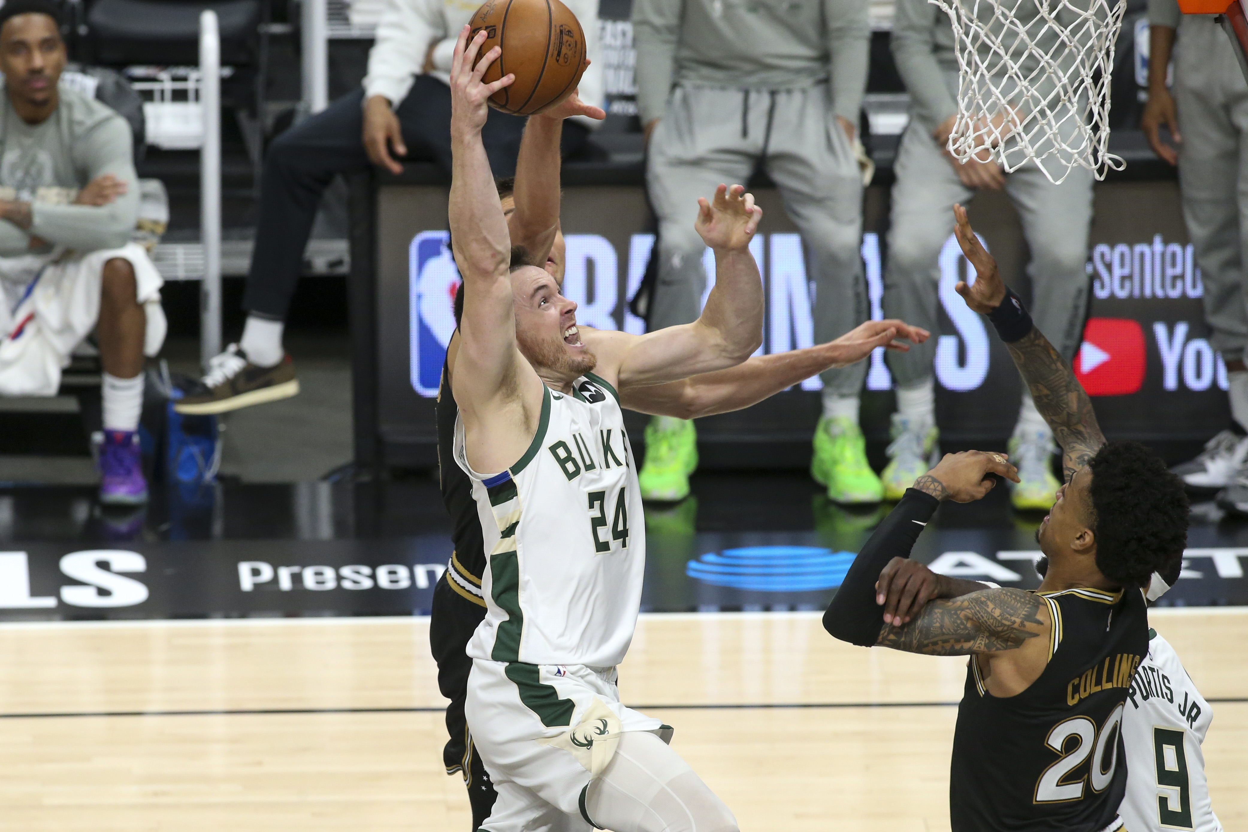 NBA: Playoffs-Milwaukee Bucks at Atlanta Hawks