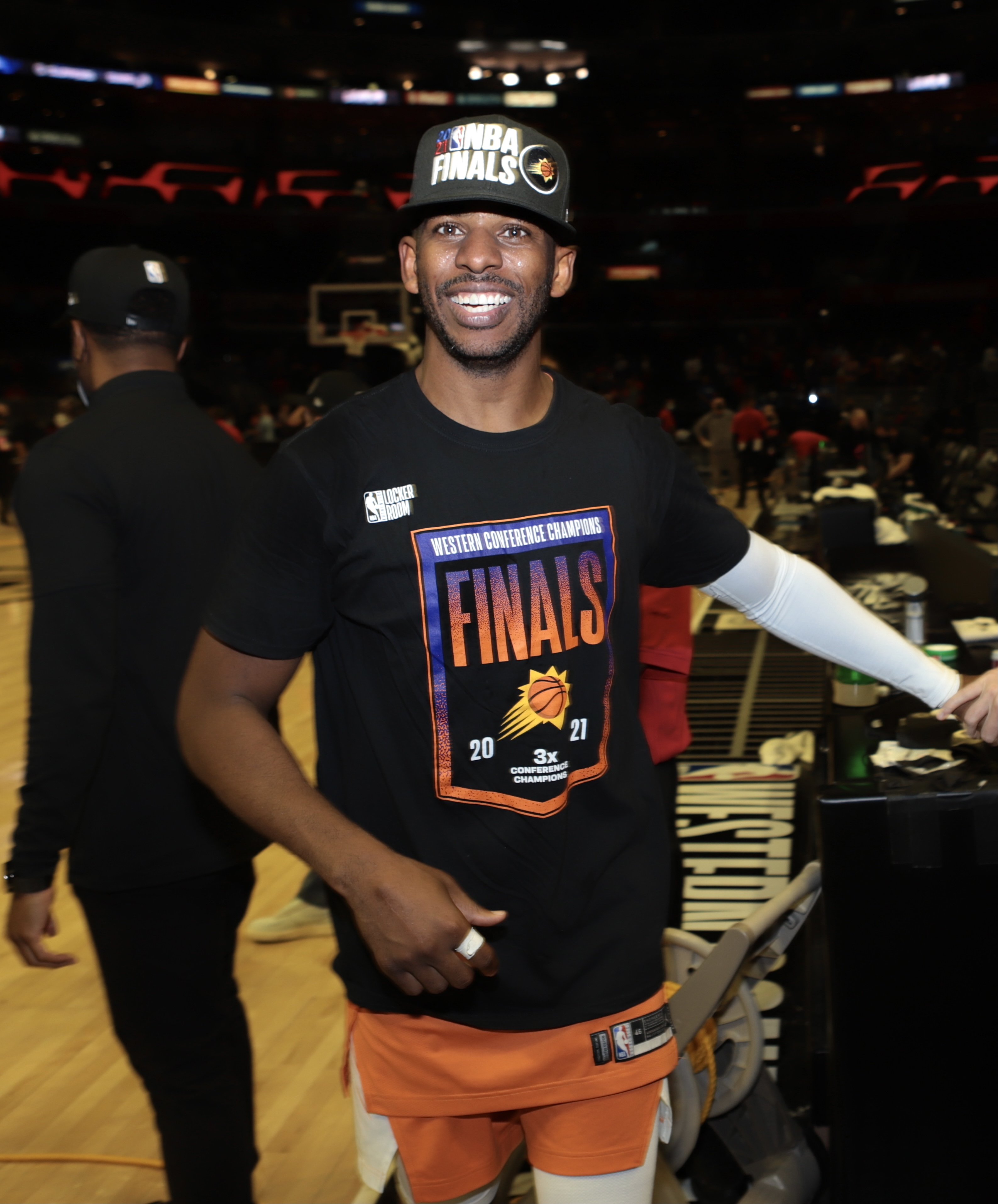 2021年NBA季后赛:菲尼克斯太阳队对快船队-第六场