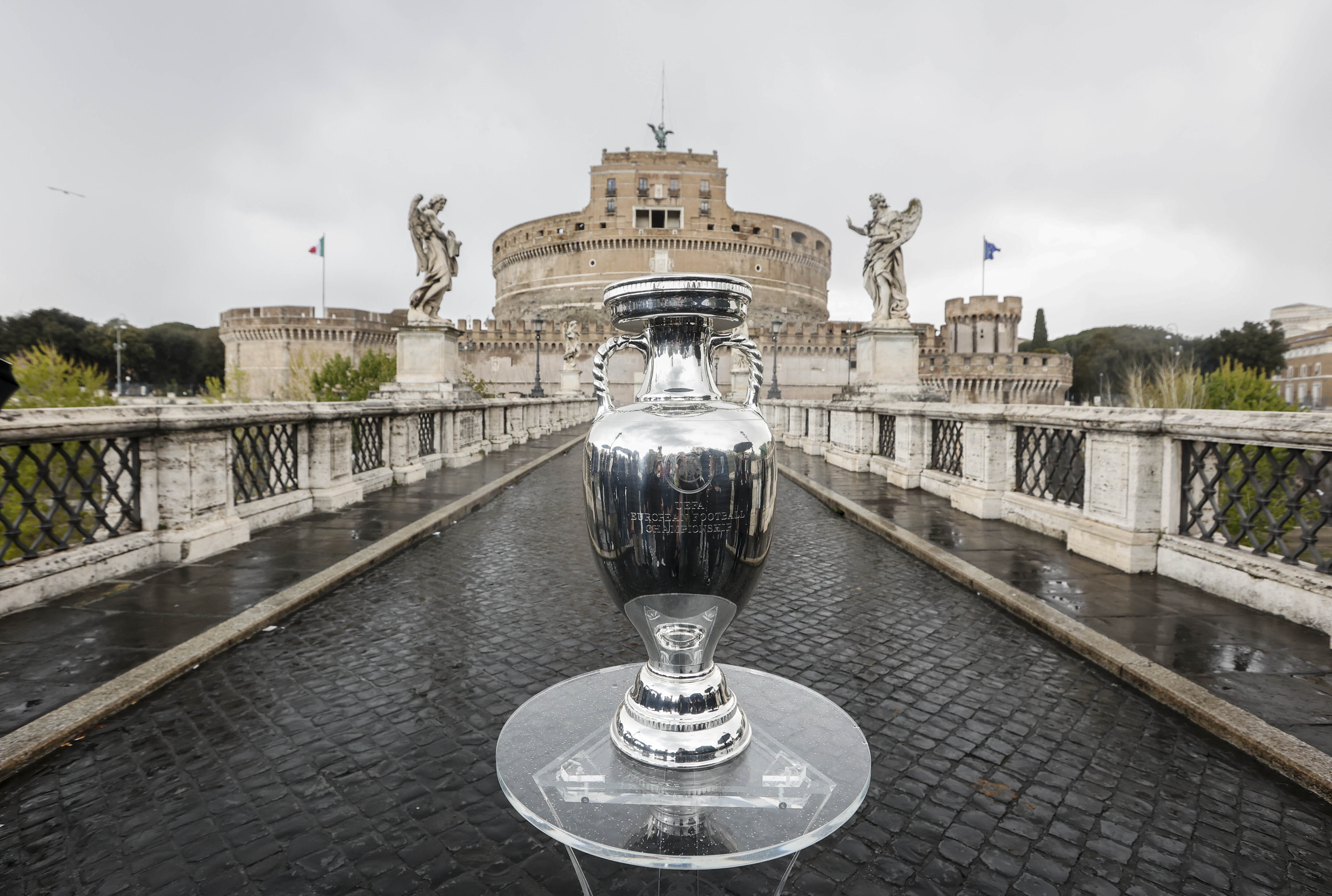 Henri Delaunay Trophy inauguration in Rome