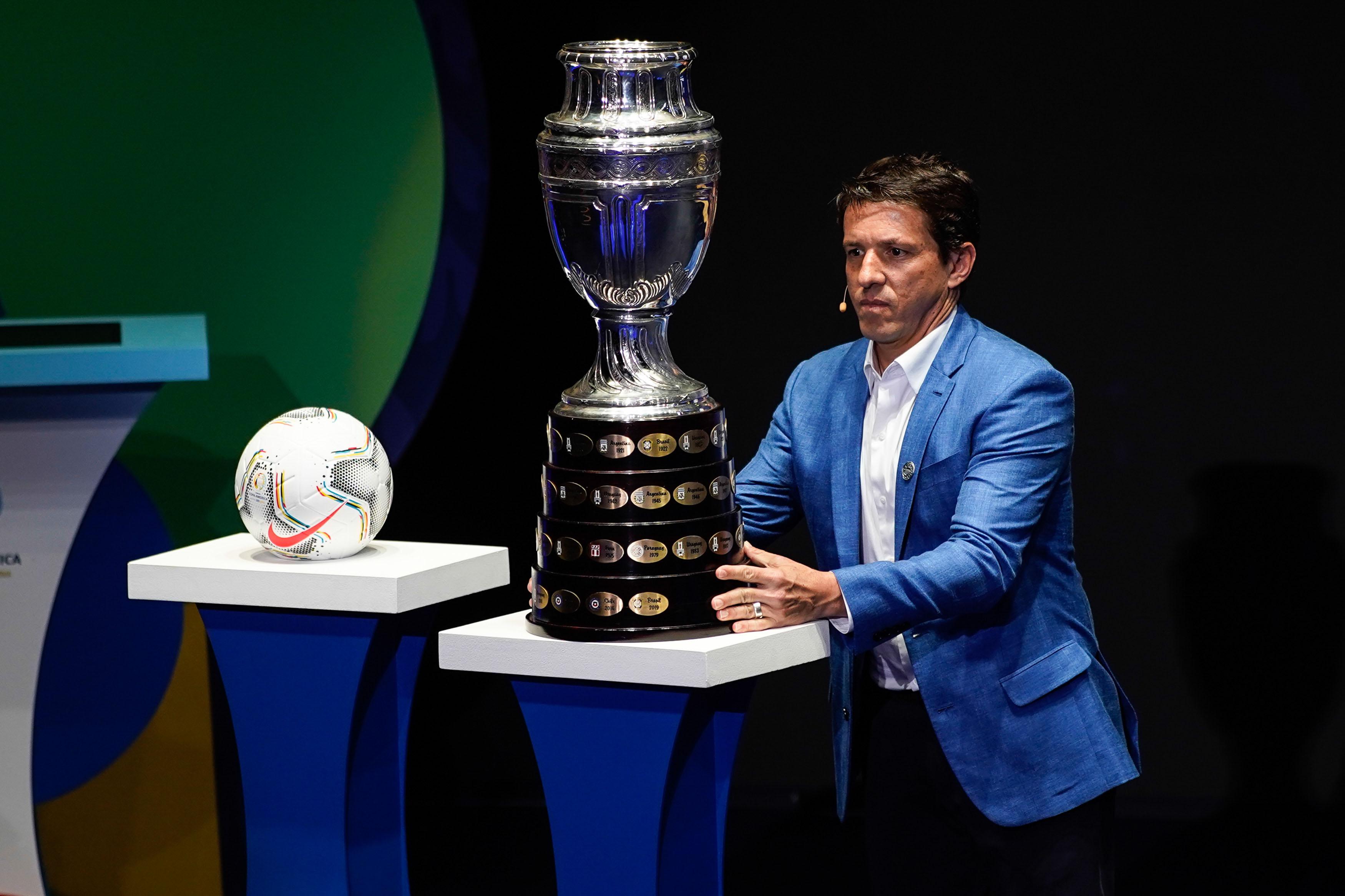 (SP)COLOMBIA-CARTAGENA-FOOTBALL-COPA AMERICA-DRAW