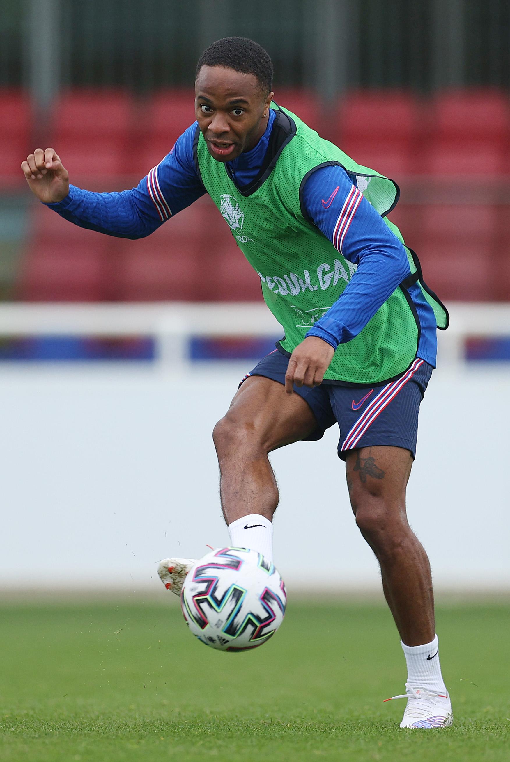 Raheem Sterling - England Training Camp - Euro 2020
