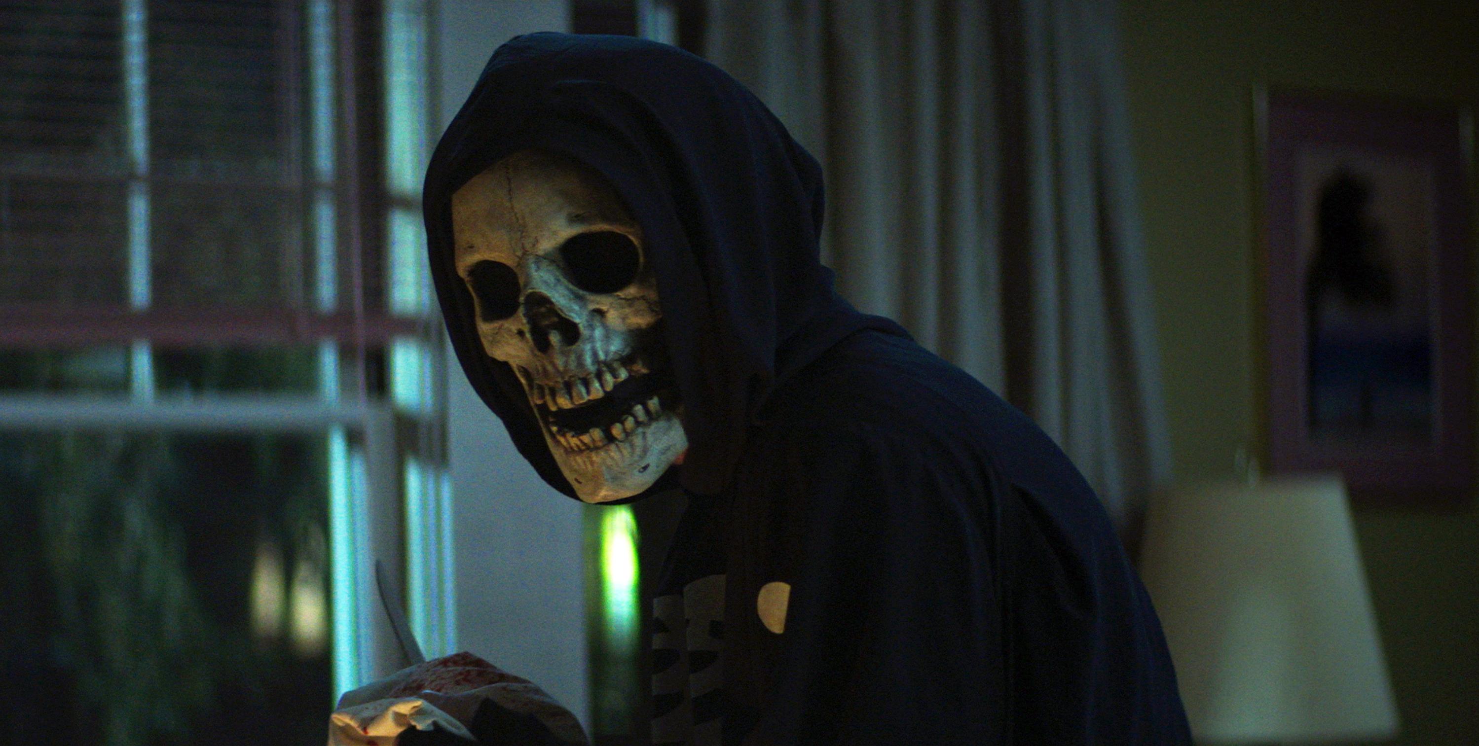The Skull Mask Killer in Fear Street: 1994