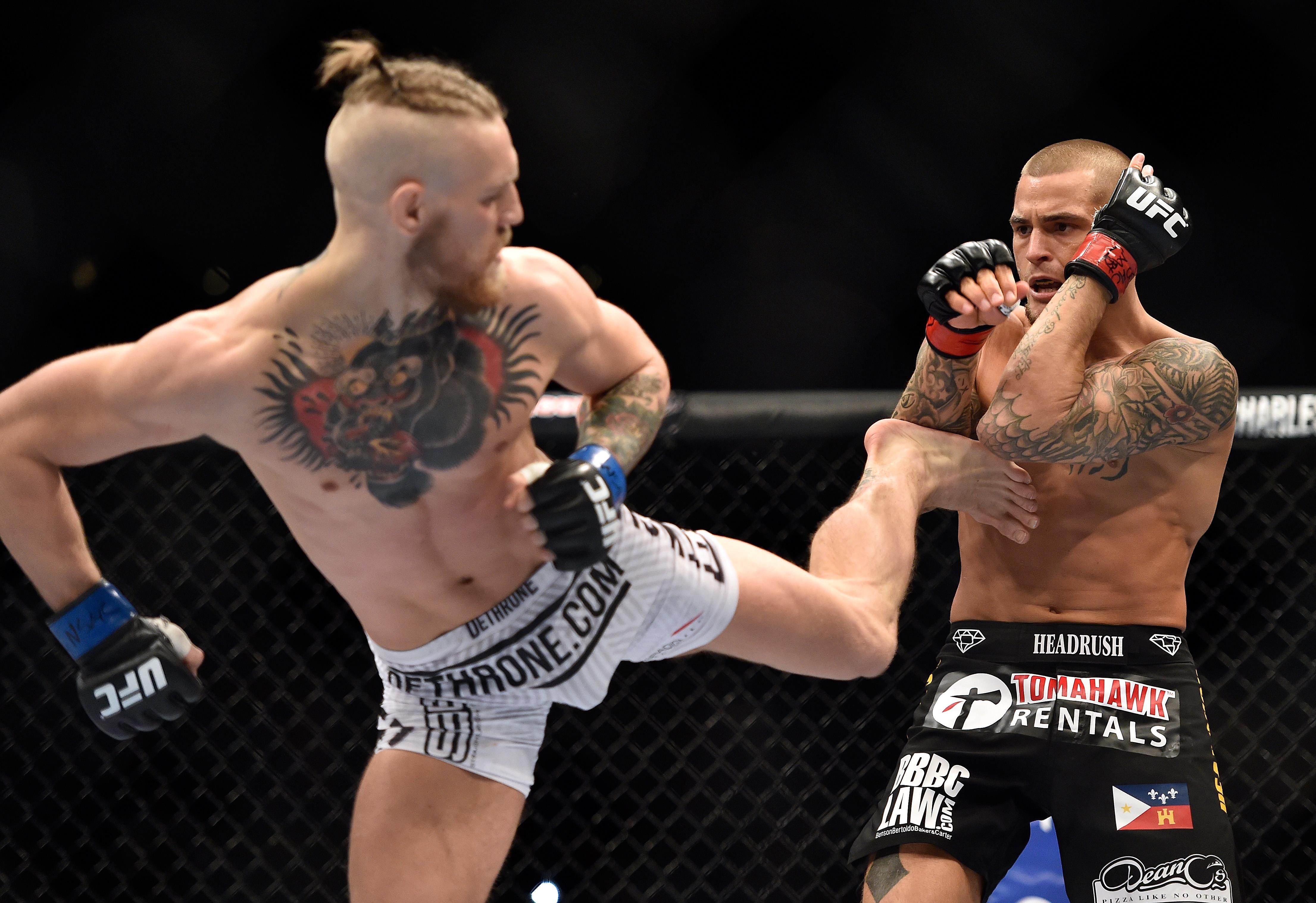 UFC 178 - Dustin Poirier v Conor McGregor