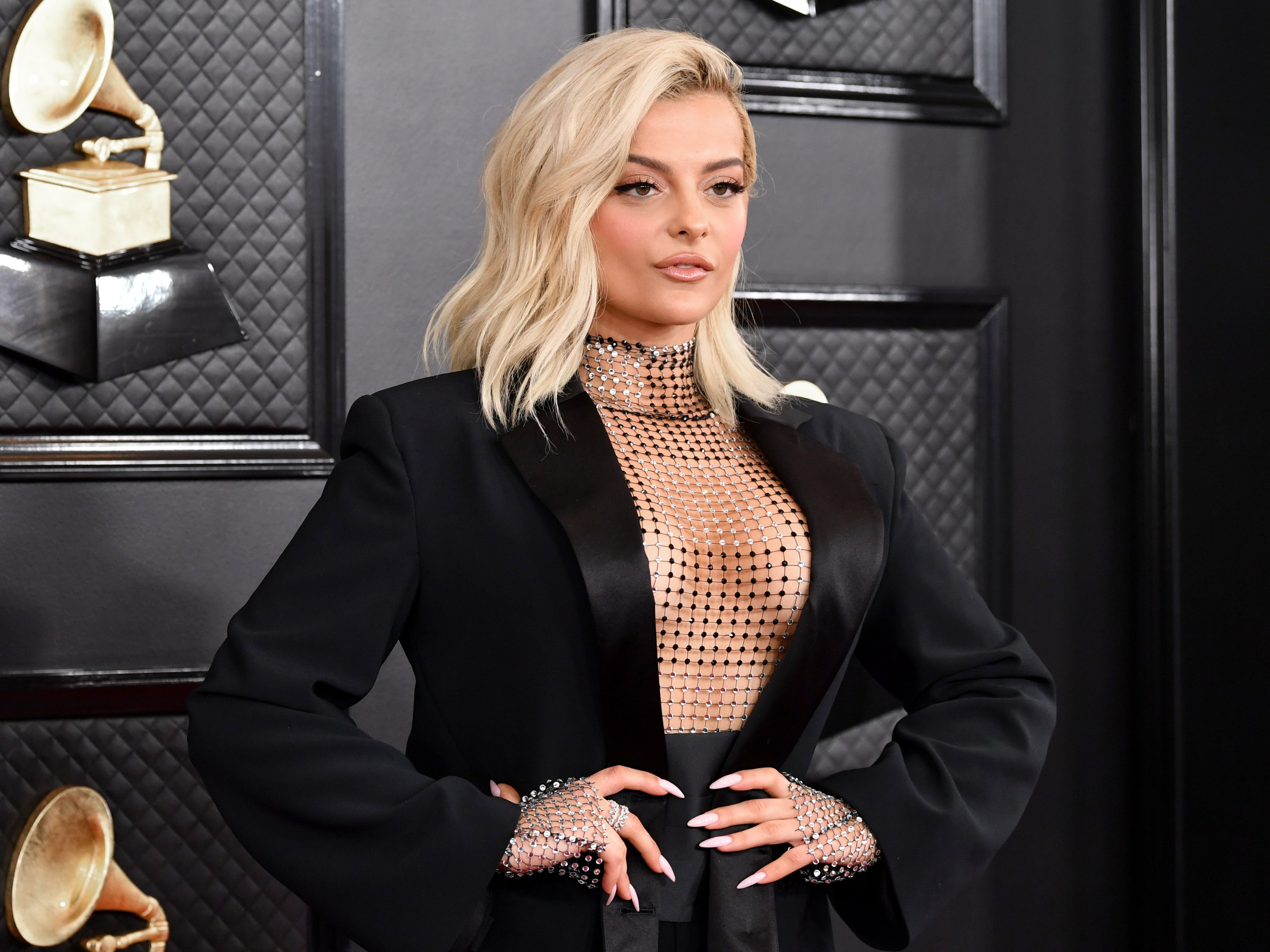 Bebe Rexha attends the 62nd Annual Grammy Awards at Staples Center on January 26, 2020 in Los Angeles,